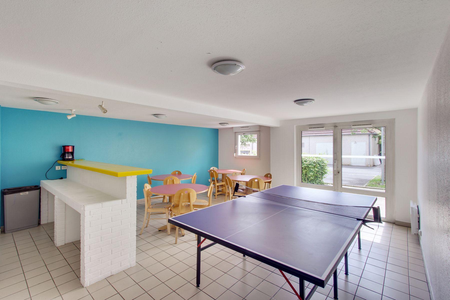 LOGIFAC résidence étudiante Abelard Melun ping-pong