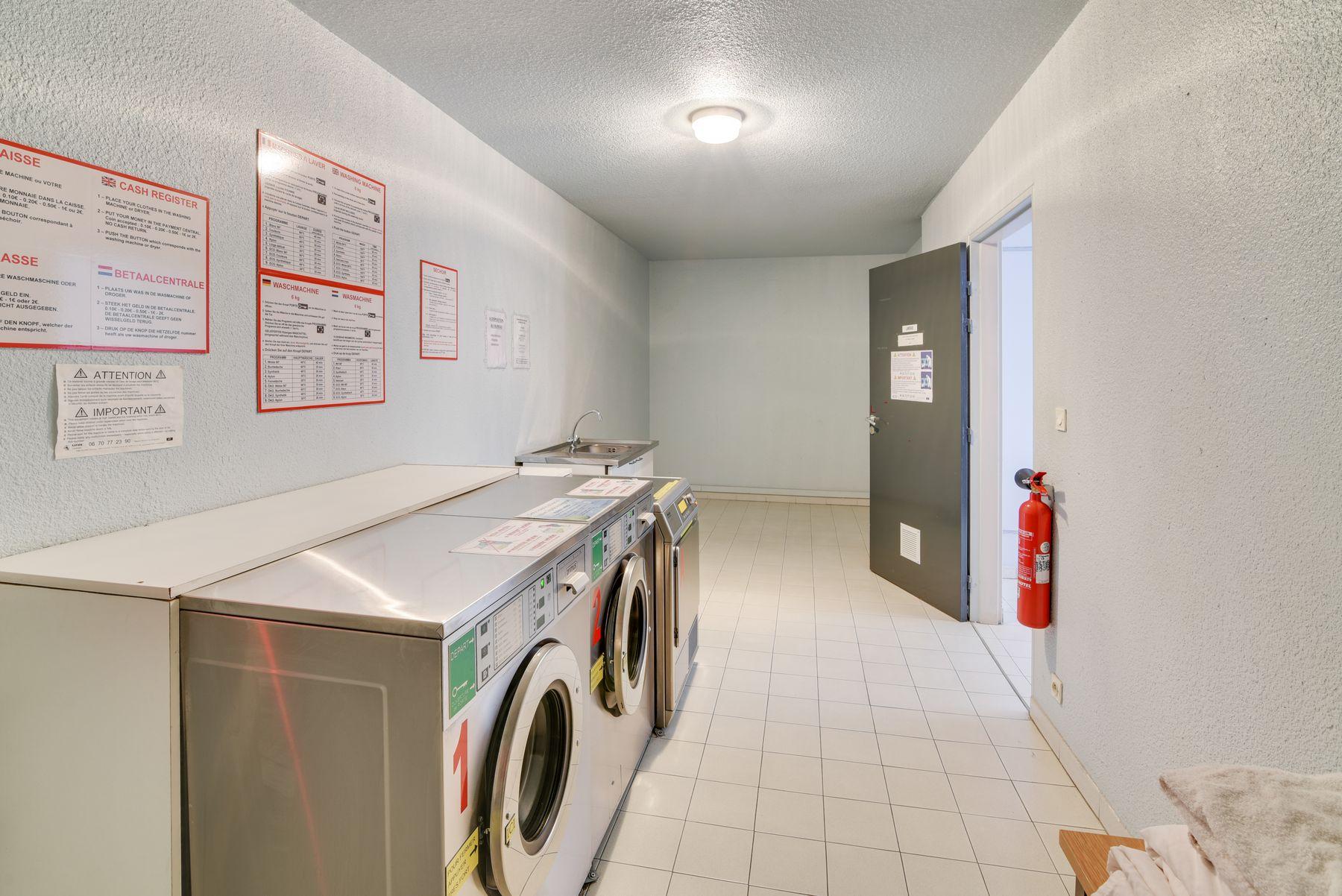 laverie résidence étudiante LOGIFAC Le Rossini Aix-en-Provence