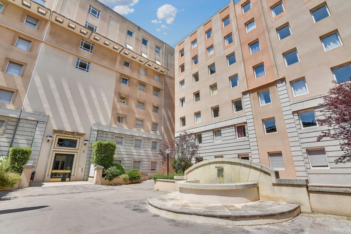 immeuble résidence étudiante LOGIFAC Le Rossini Aix-en-Provence