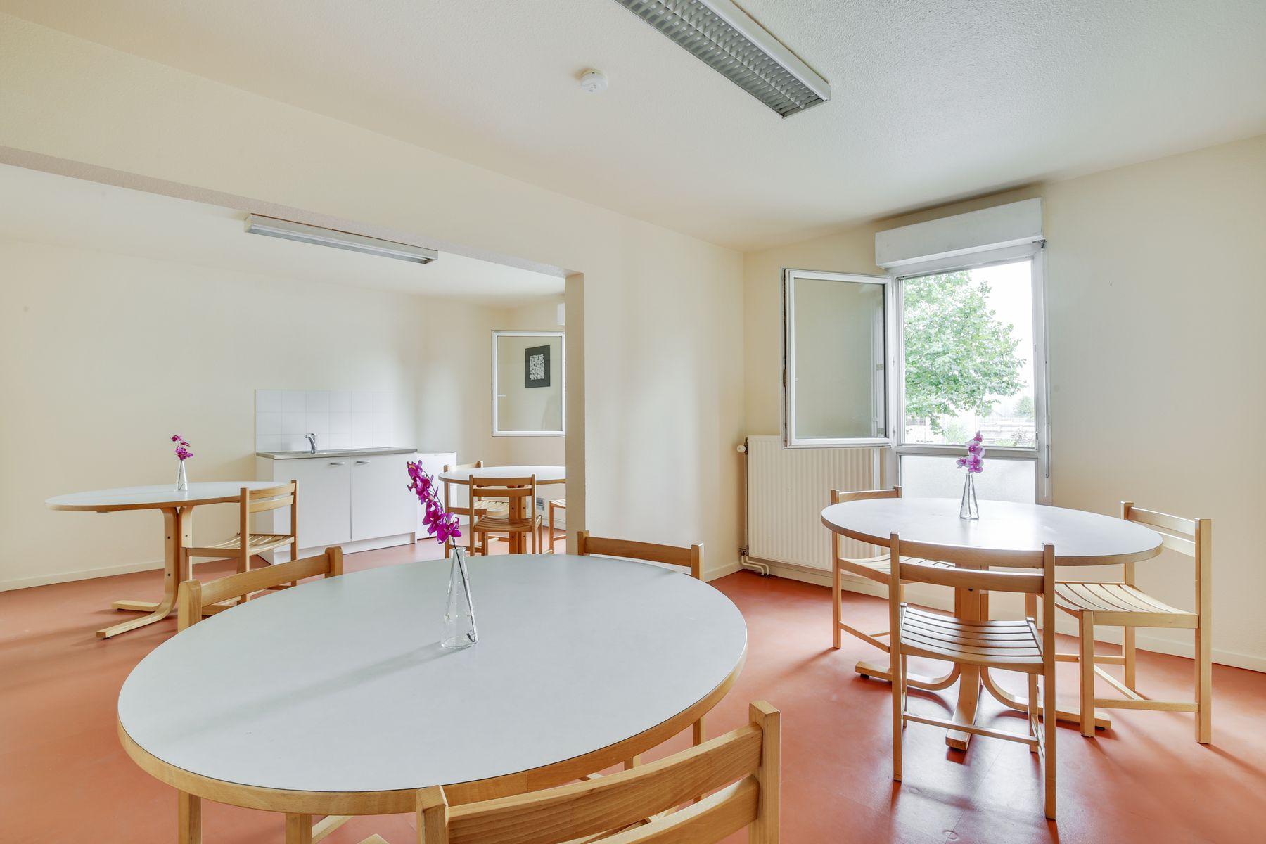 LOGIFAC résidence étudiante Maximilien Perret Alfortville espaces communs