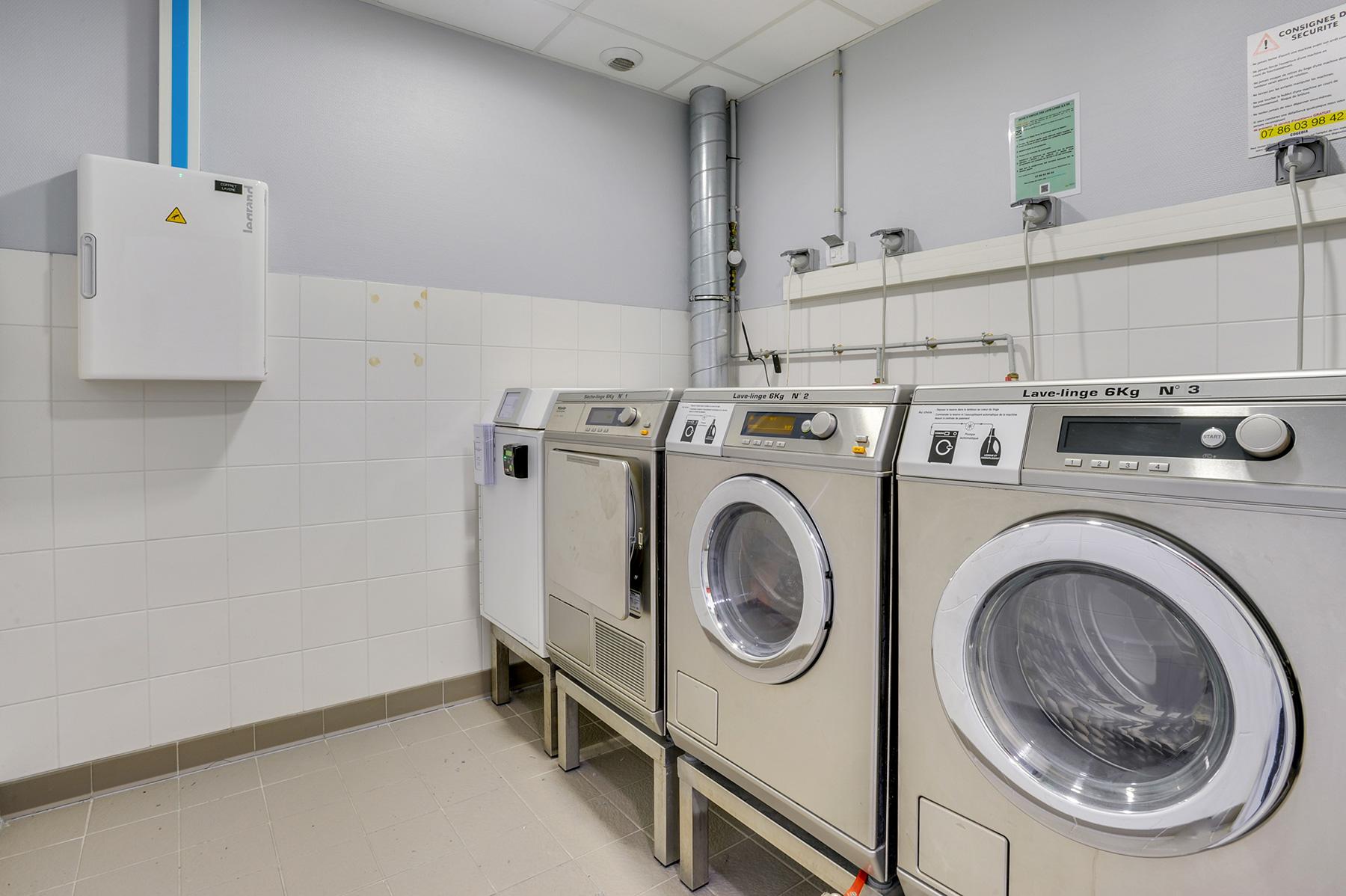 laverie résidence étudiante LOGIFAC Toulouse Le Cerdana