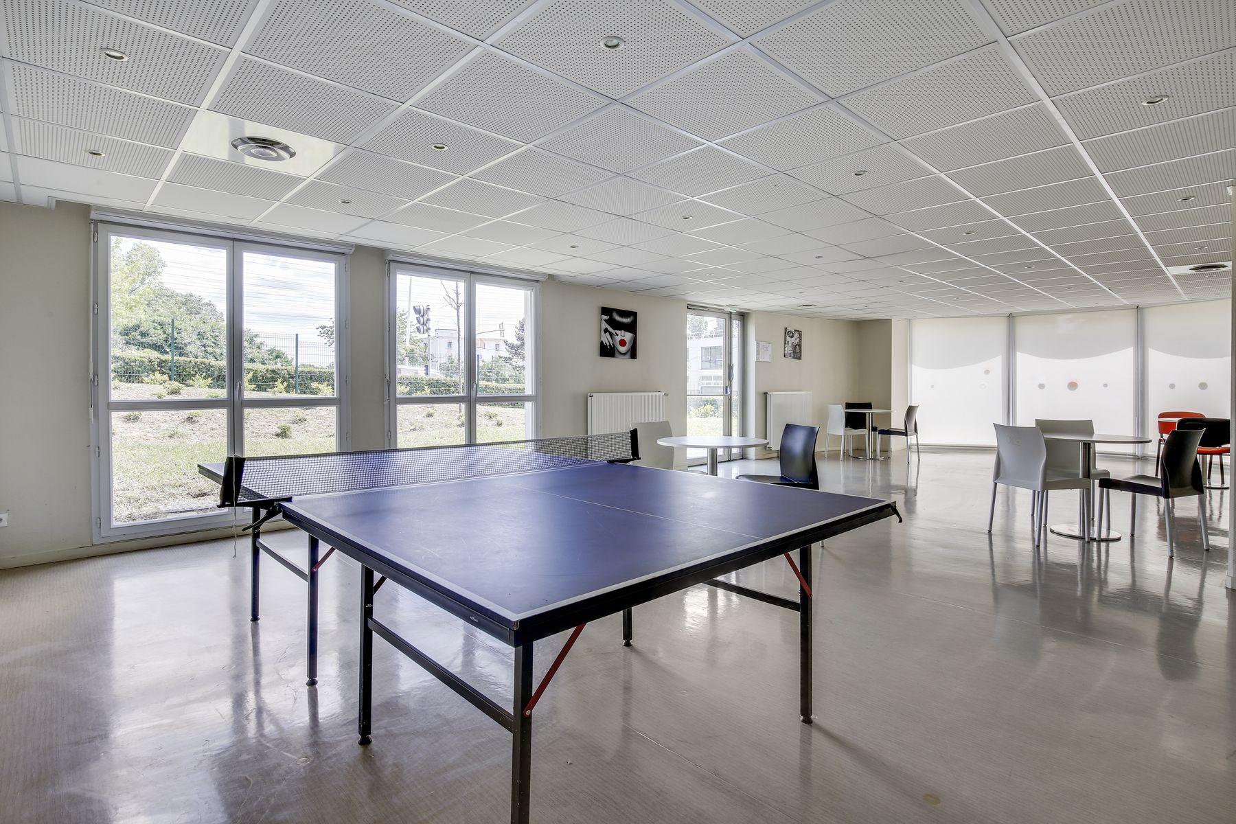 LOGIFAC résidence étudiante Compas Palaiseau espaces collectifs