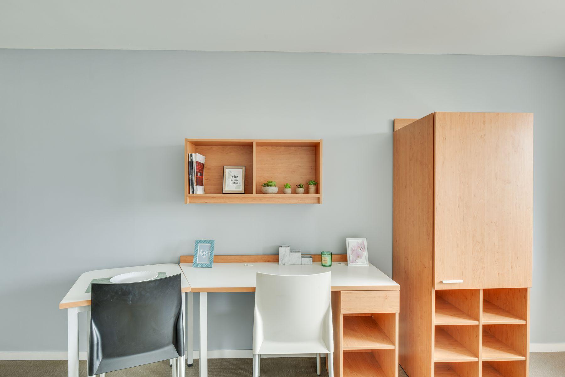 LOGIFAC résidence étudiante Condorcet Aubervilliers chambre