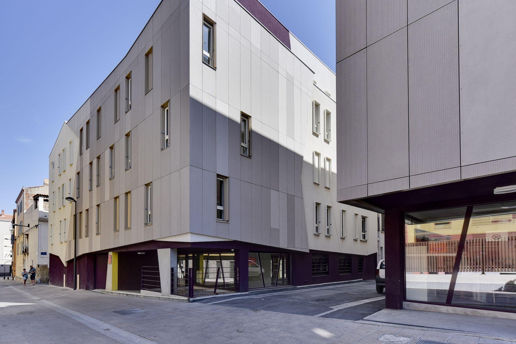 LOGIFAC résidence étudiante Le Conservatoire Perpignan accès