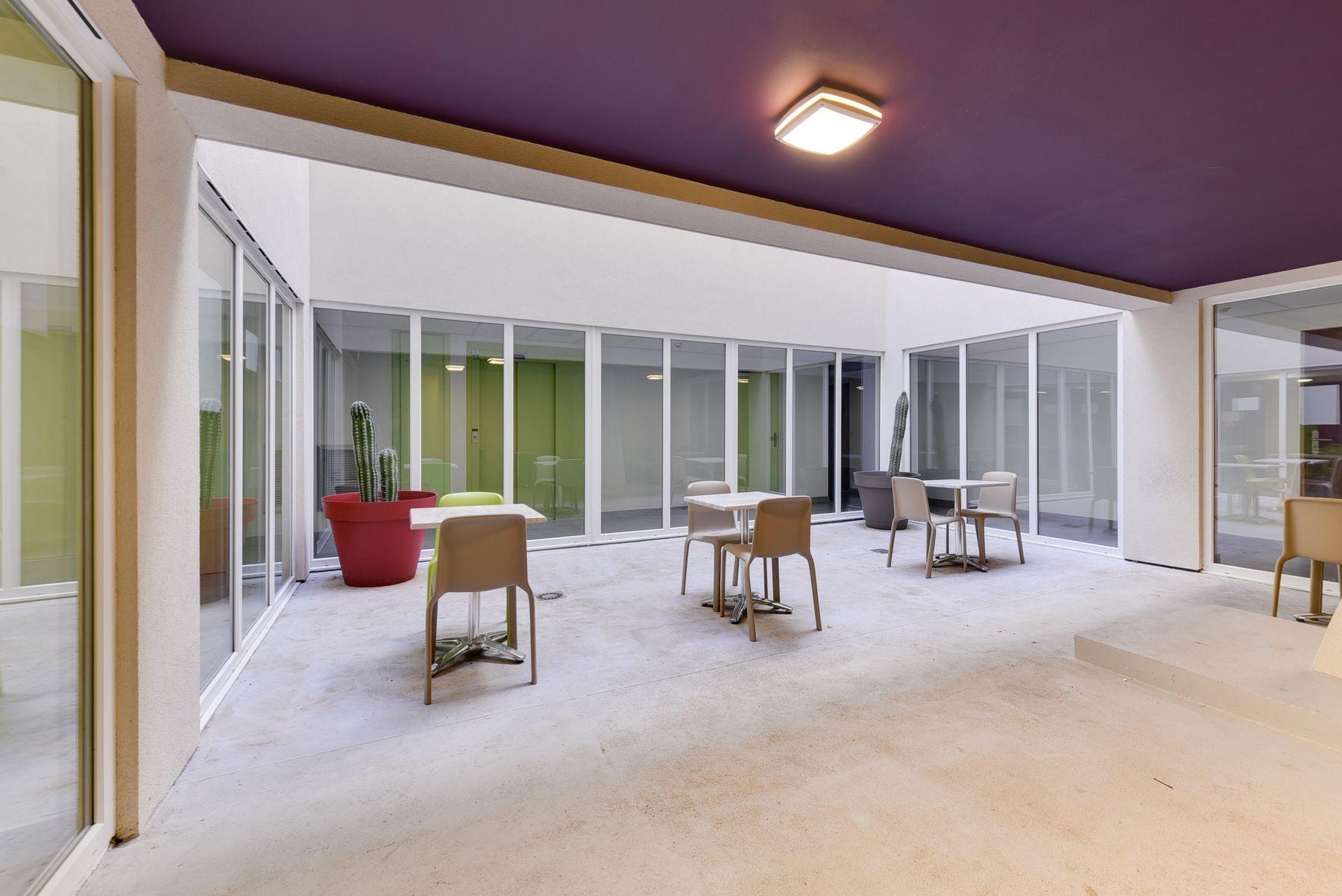 LOGIFAC résidence étudiante Le Conservatoire Perpignan espaces communs