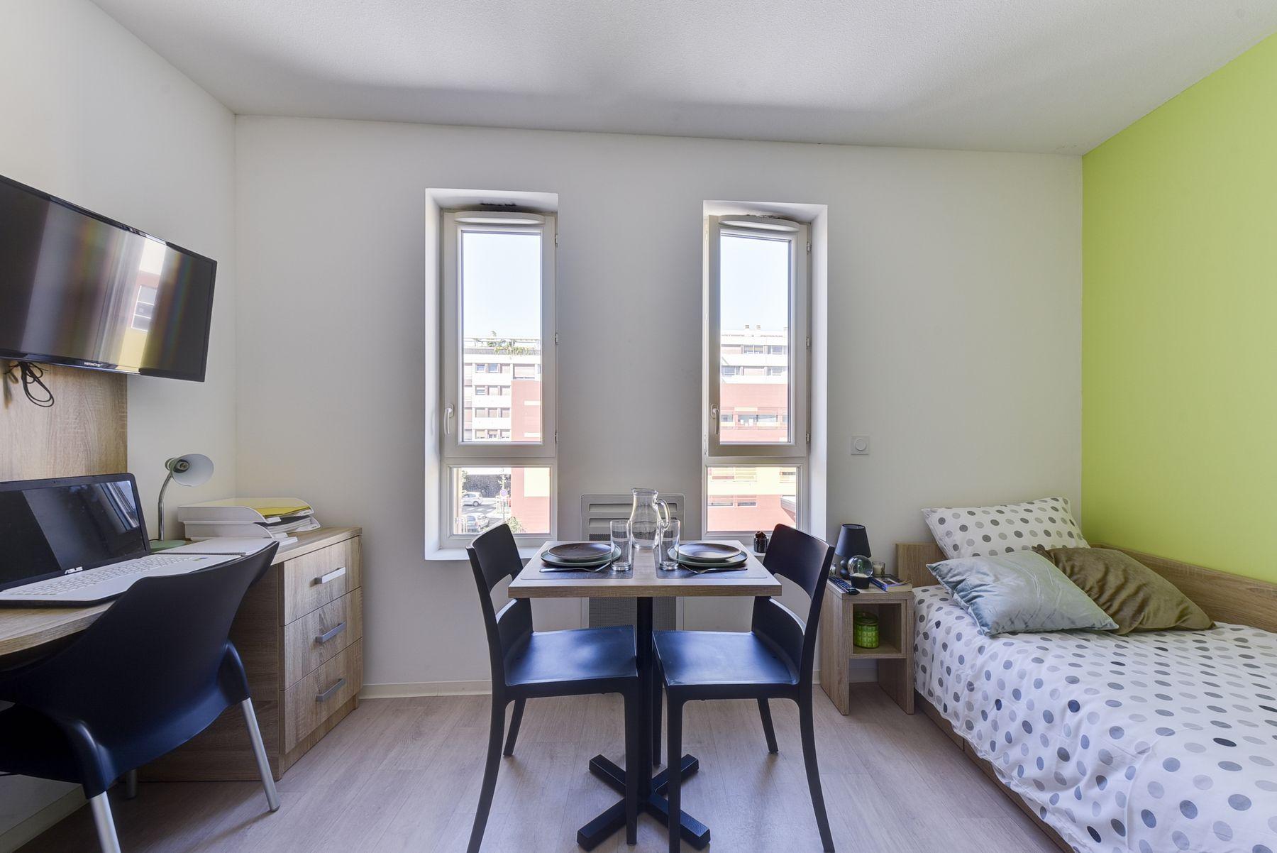 LOGIFAC résidence étudiante Le Conservatoire Perpignan studio