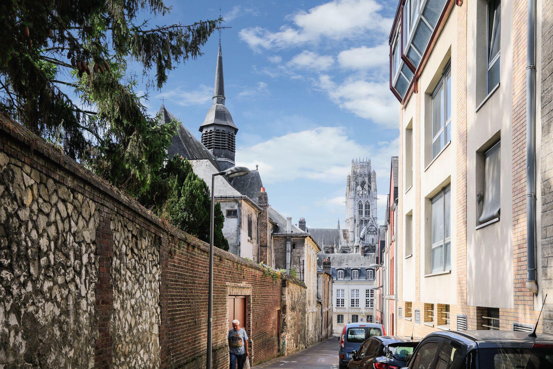 LOGIFAC résidence étudiante Corneille Rouen localisation
