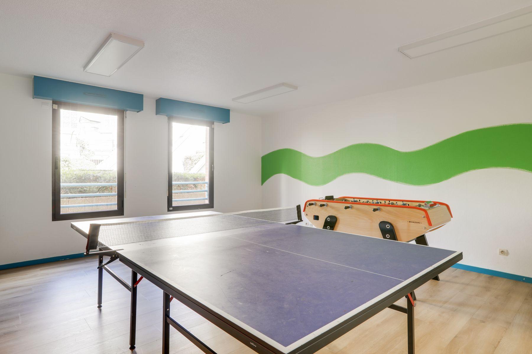 LOGIFAC résidence étudiante Corneille Rouen jeux collectifs