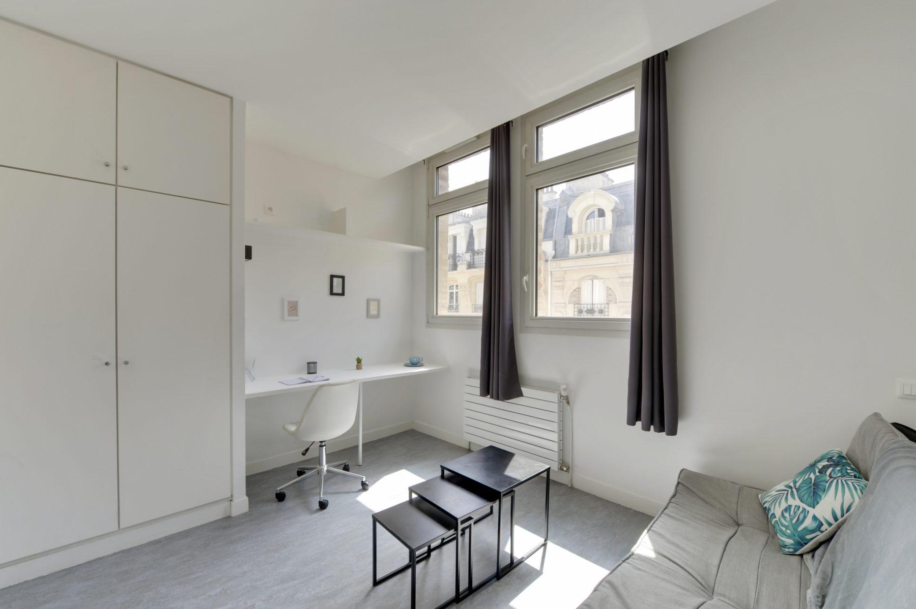 T1 résidence étudiante LOGIFAC Paris Diderot