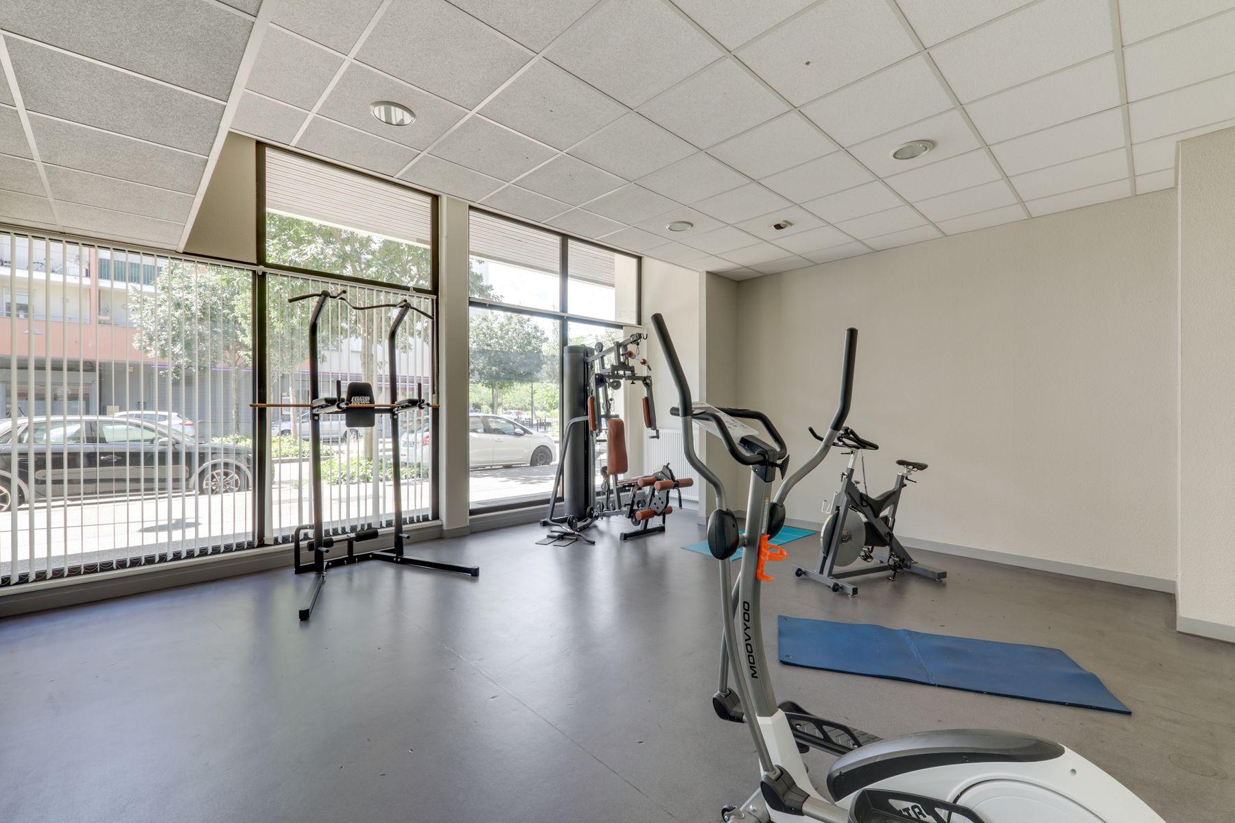 LOGIFAC résidence étudiante Rousseau Echirolles salle de sport