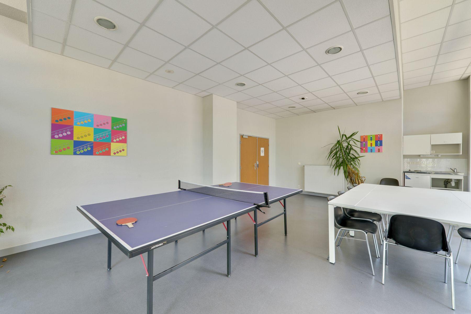 LOGIFAC résidence étudiante Rousseau Echirolles ping-pong