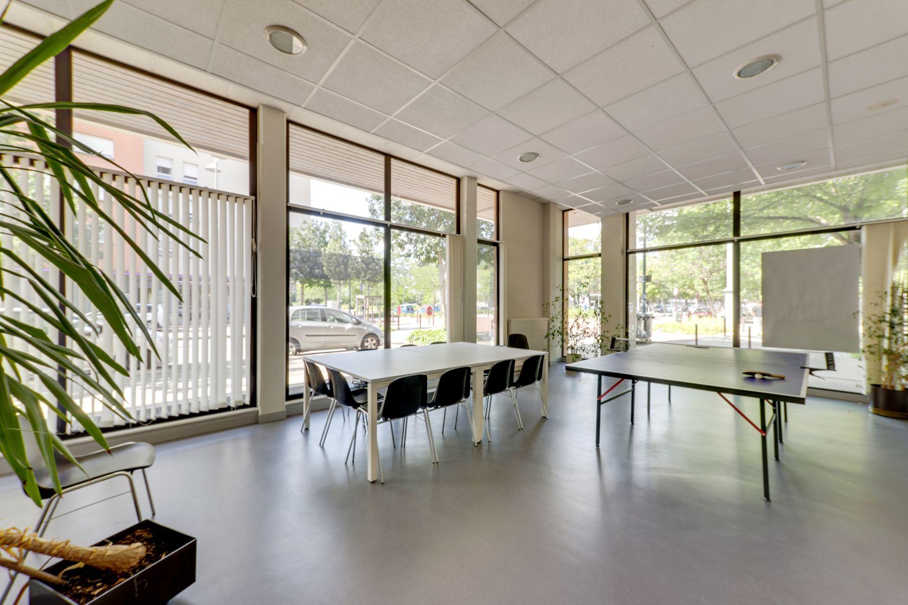 LOGIFAC résidence étudiante Rousseau Echirolles espaces communs