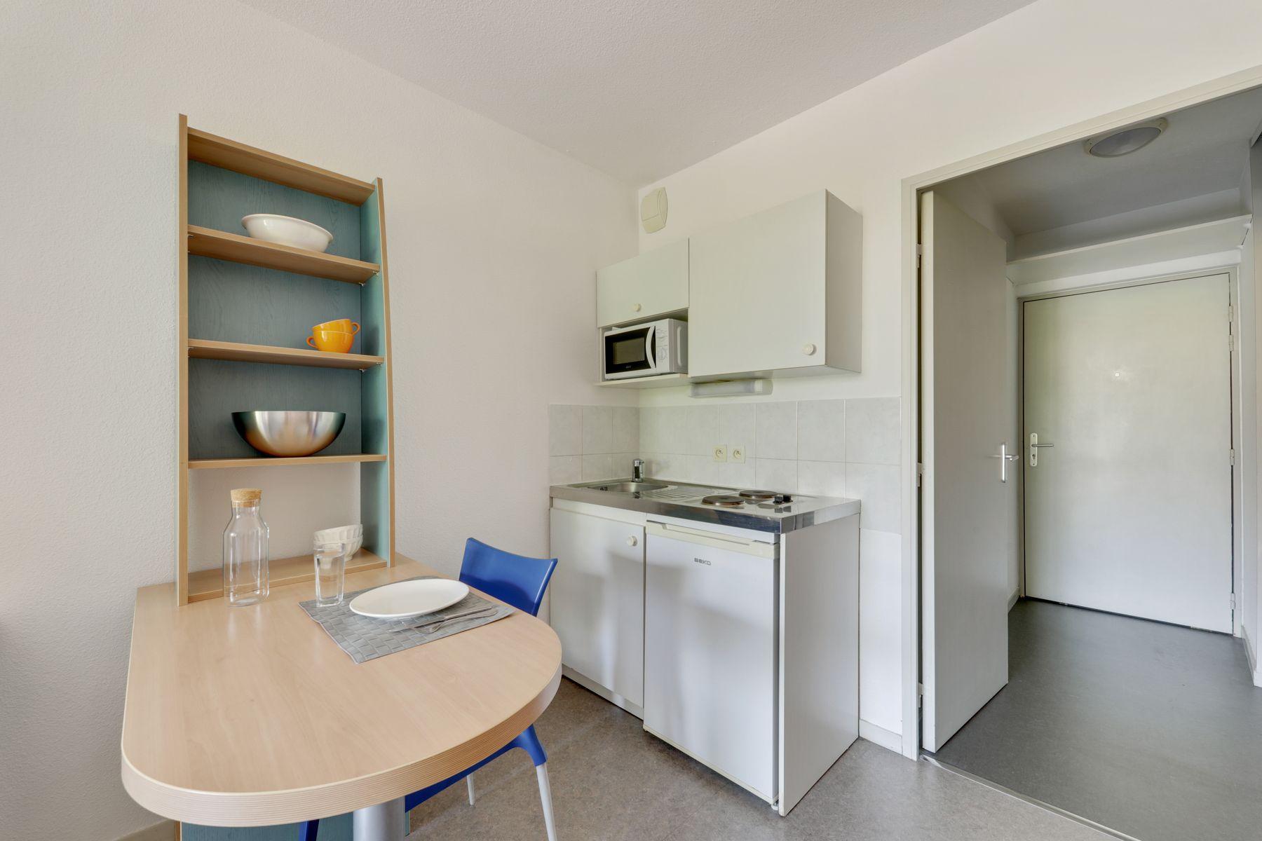 LOGIFAC résidence étudiante Rousseau Echirolles studio