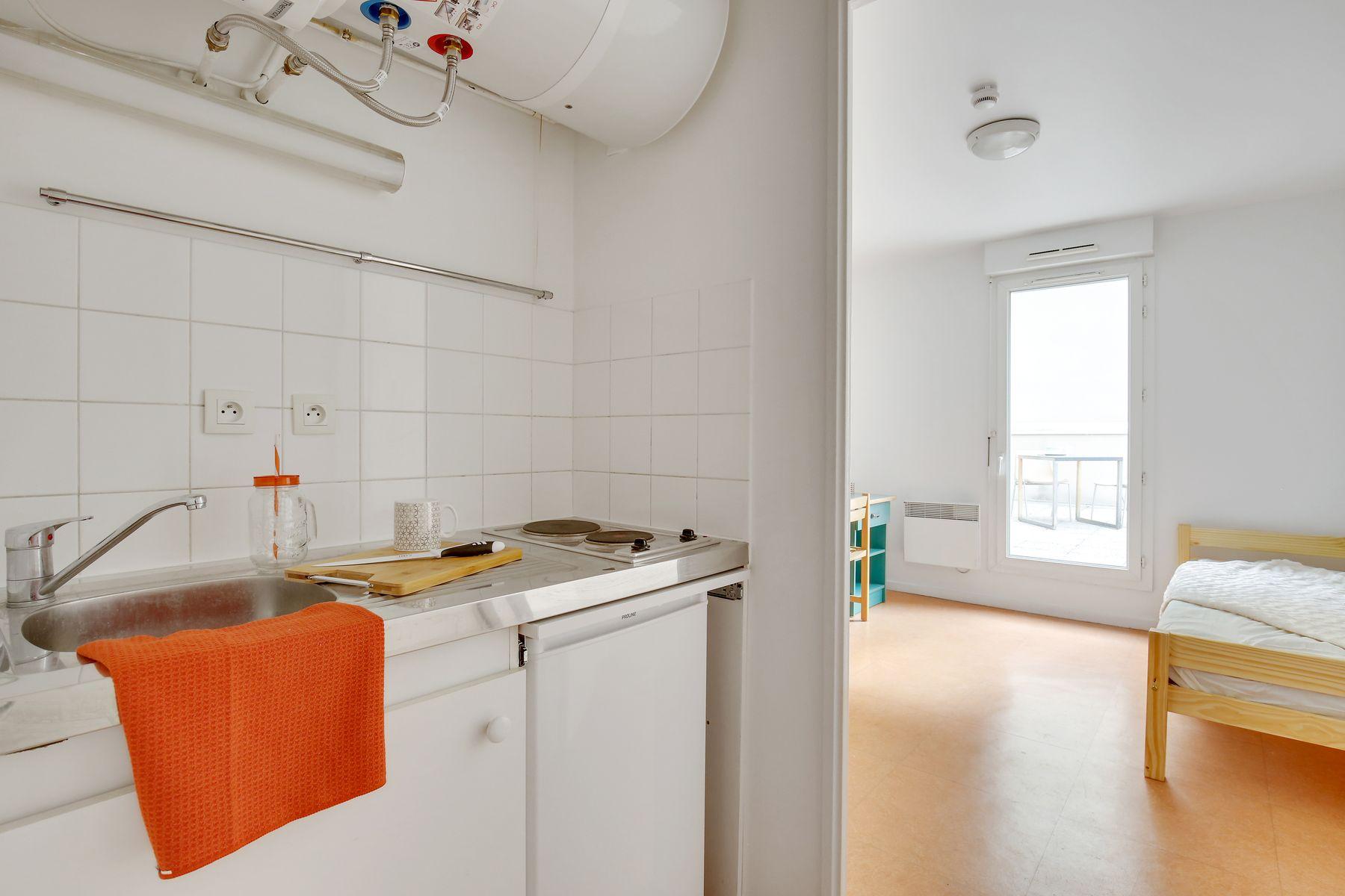 LOGIFAC résidence étudiante Ecrivains Carrières sur seine studio équipé