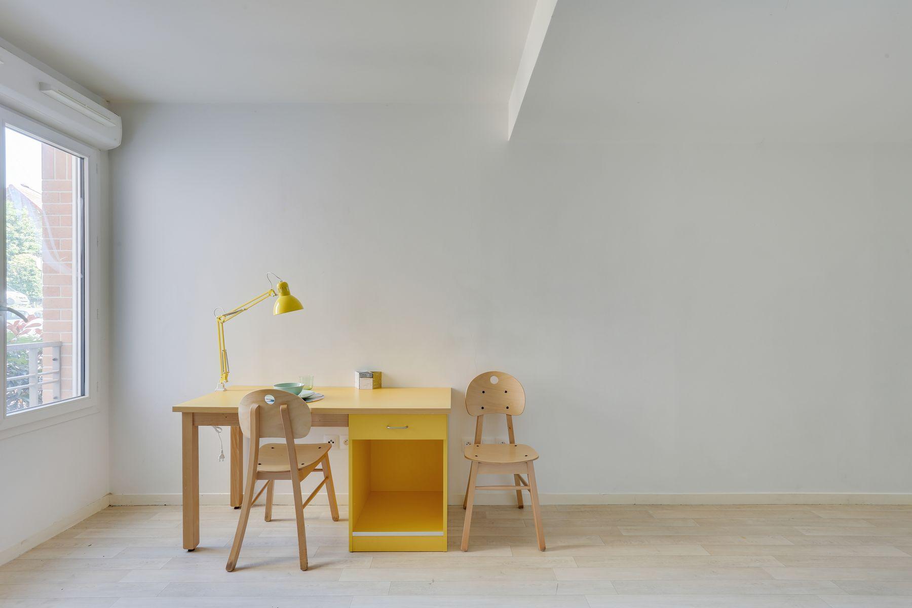 LOGIFAC résidence étudiante Fourmont Herblay sur seine bureau