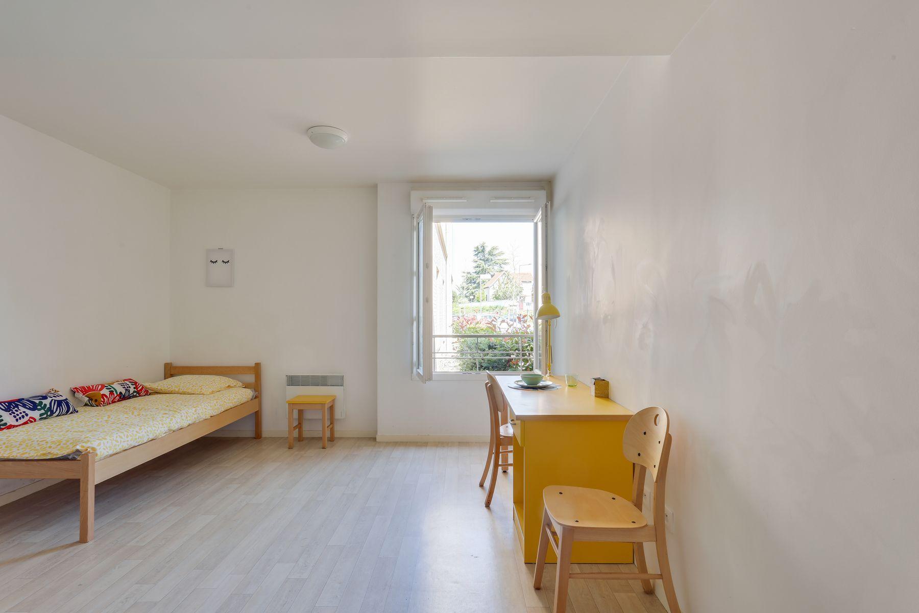 LOGIFAC résidence étudiante Fourmont Herblay sur seine studio