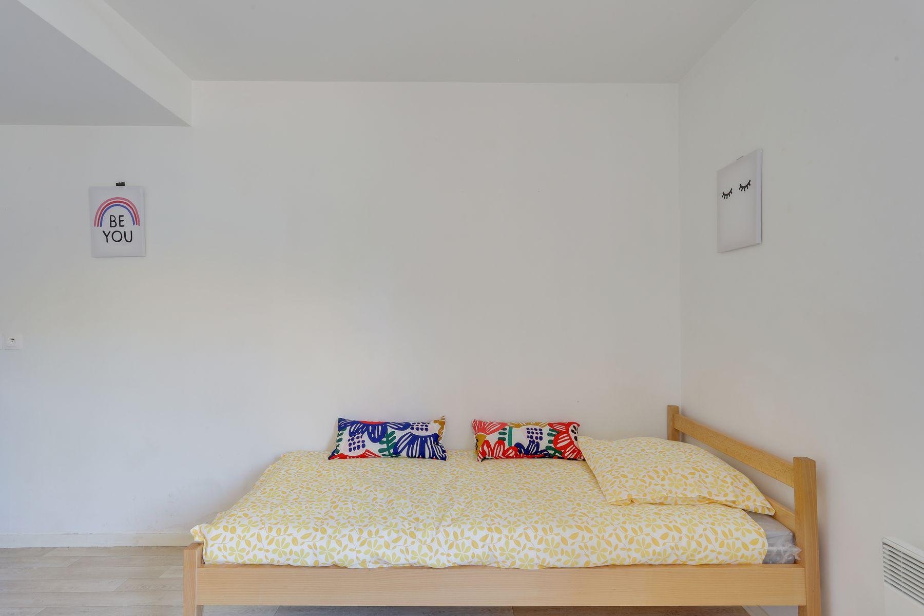 LOGIFAC résidence étudiante Fourmont Herblay sur seine lit