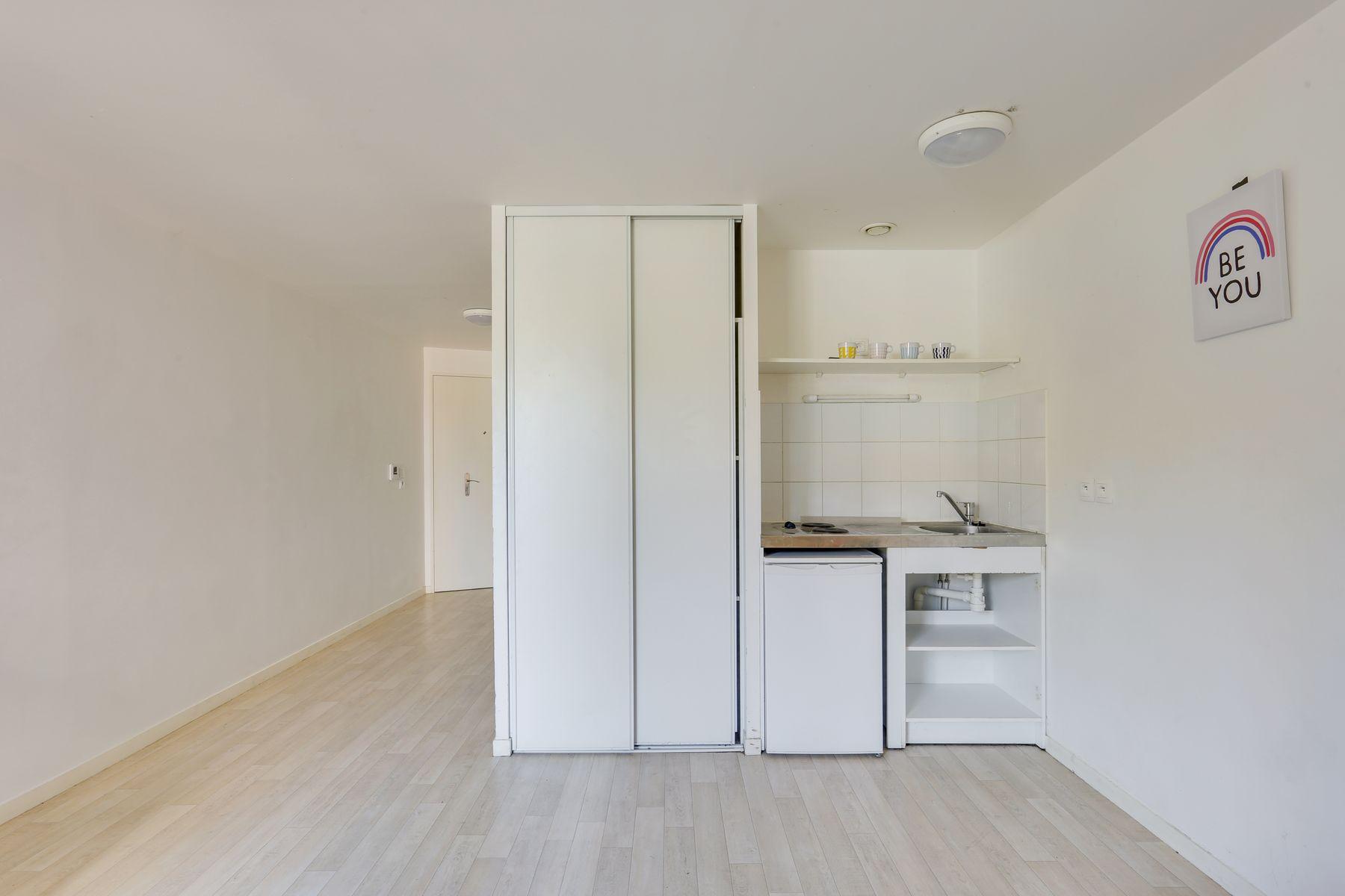 LOGIFAC résidence étudiante Fourmont Herblay sur seine cuisine et rangement
