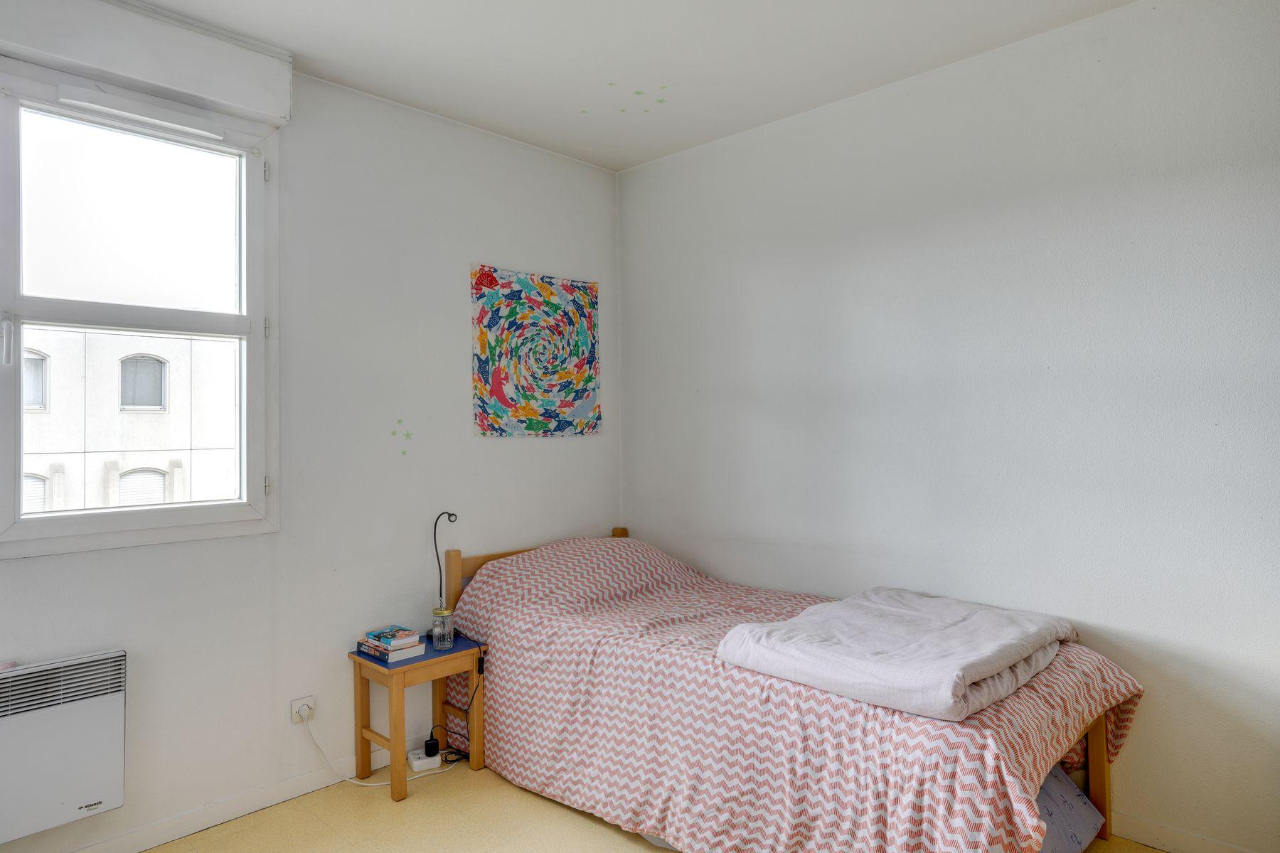 LOGIFAC résidence étudiante Gambetta Rouen lit