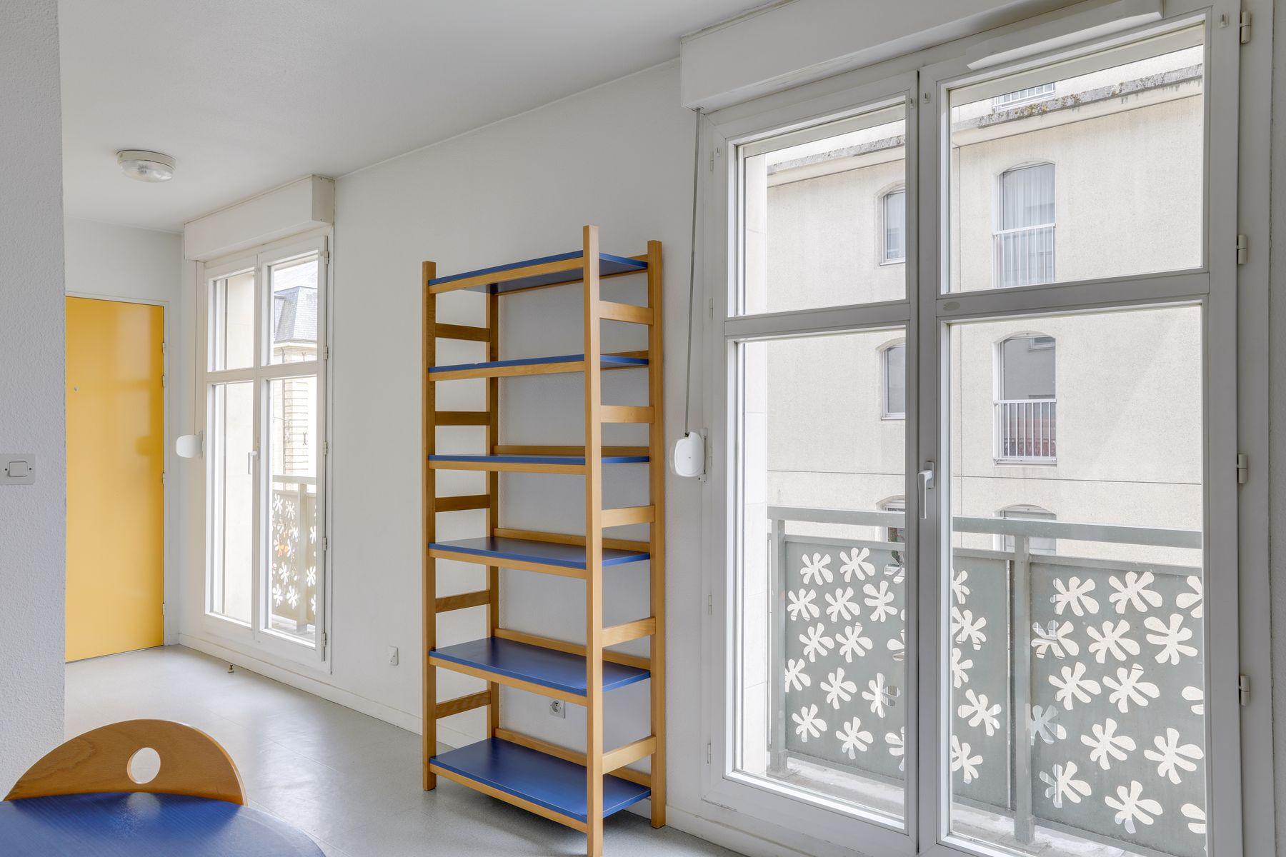 LOGIFAC résidence étudiante Gambetta Rouen chambre