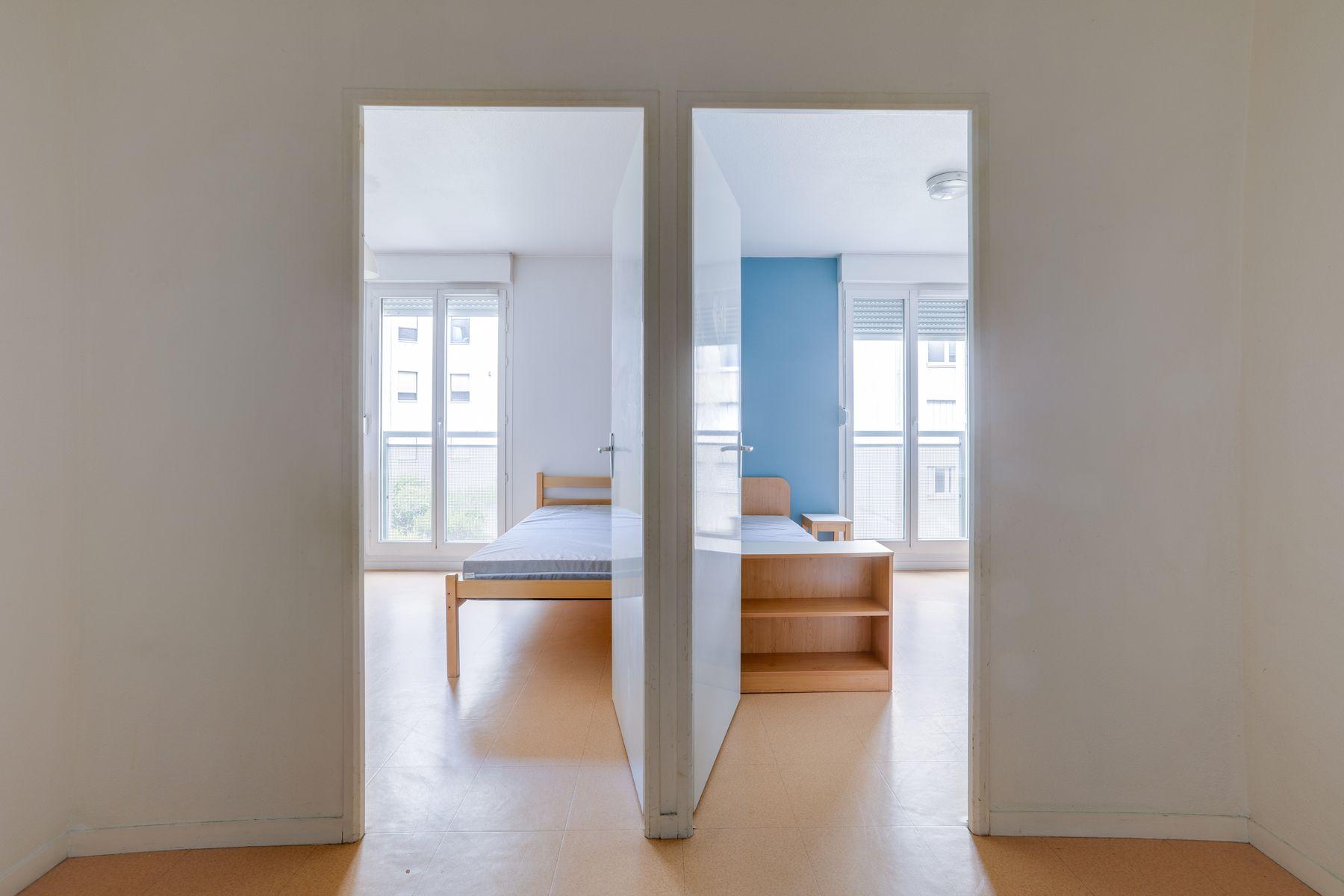 LOGIFAC résidence étudiante Gambetta Rouen deux studios