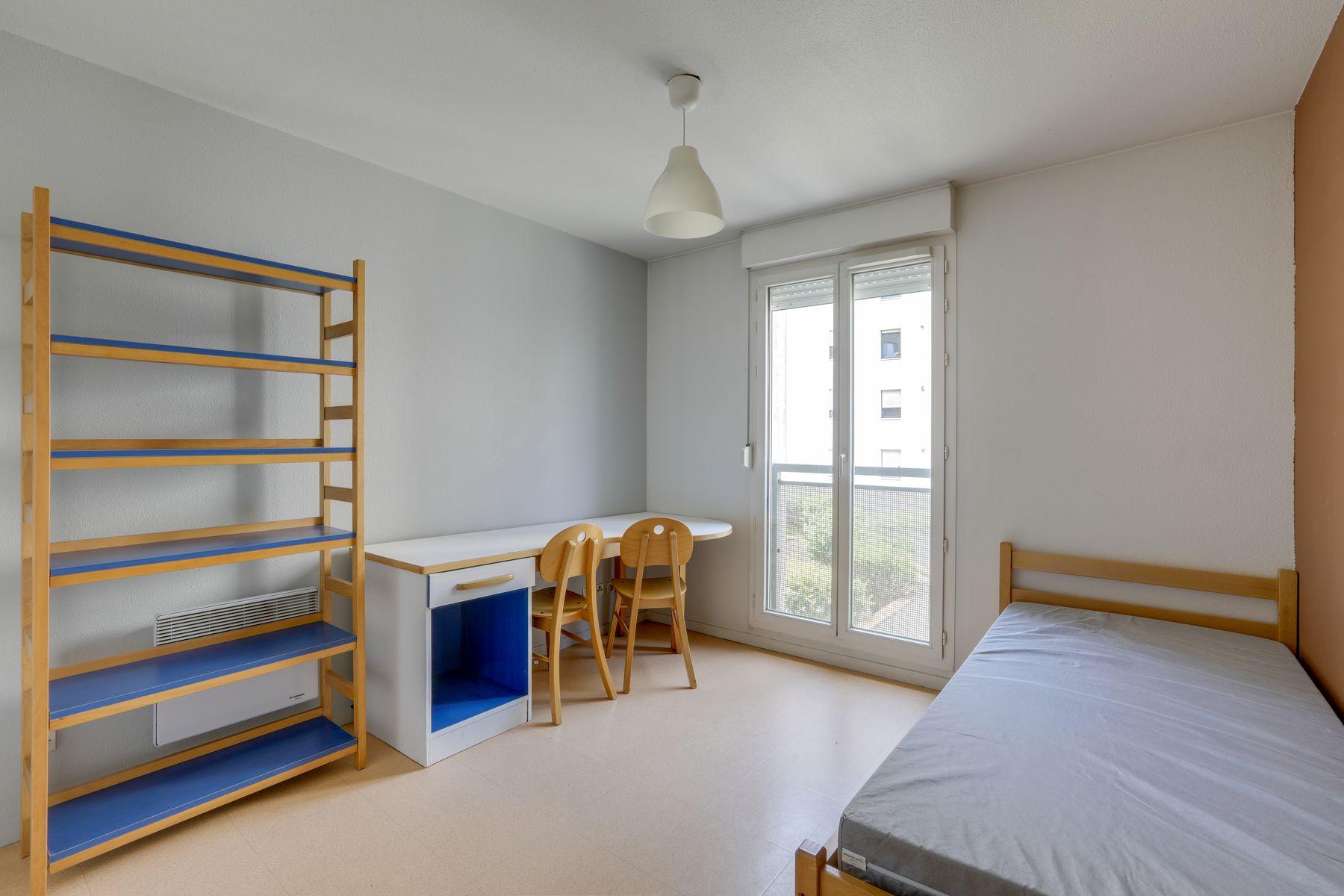 LOGIFAC résidence étudiante Gambetta Rouen studio
