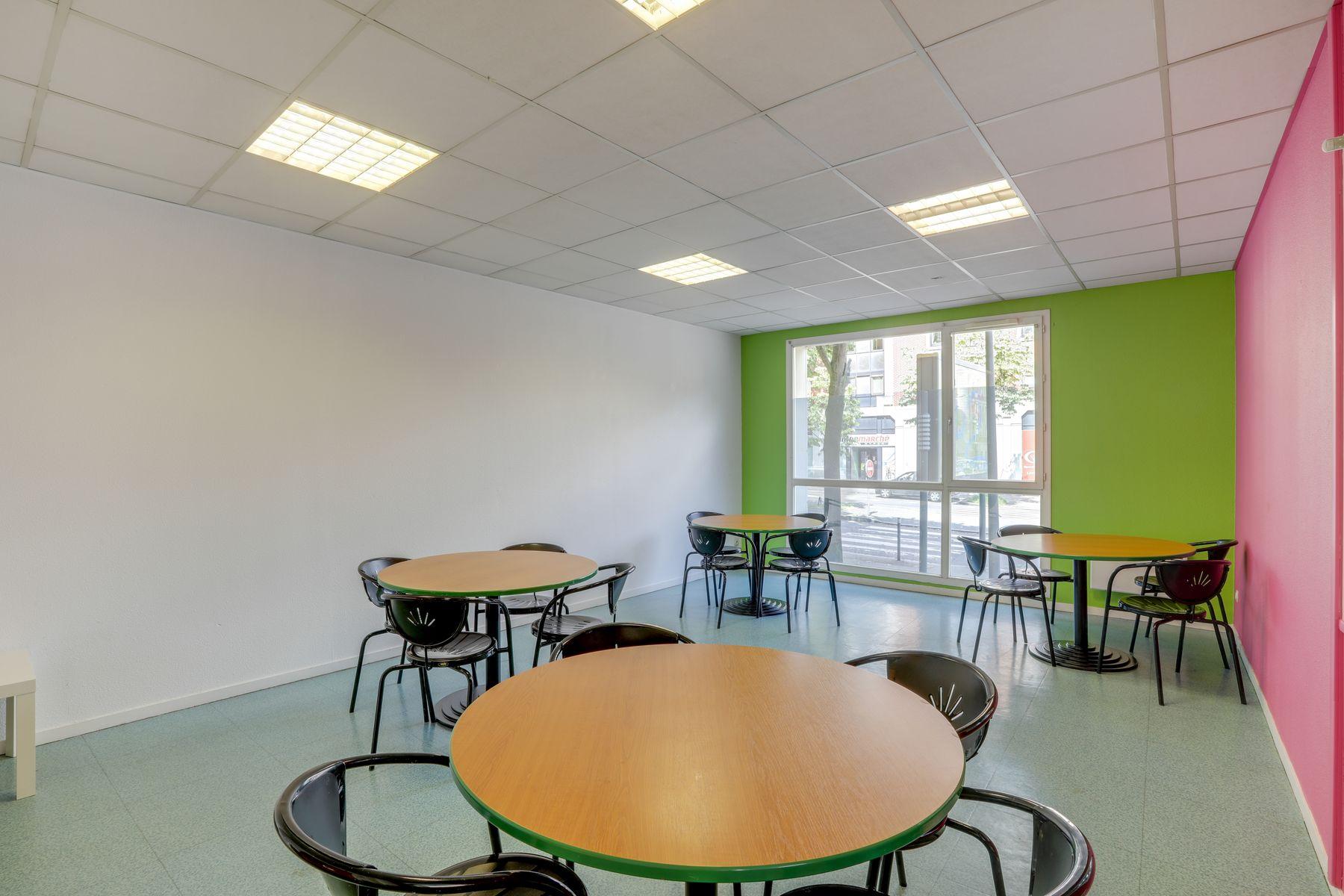 LOGIFAC résidence étudiante Gambetta Rouen salle de travail