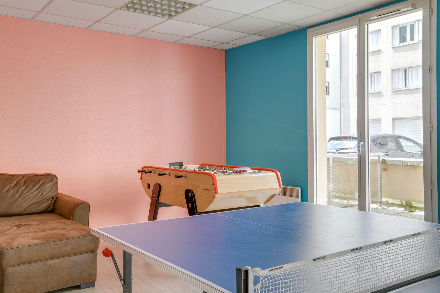 LOGIFAC résidence étudiante Gambetta Rouen foyer