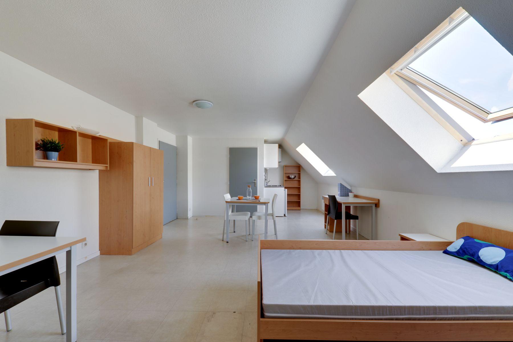 LOGIFAC résidence étudiante Anthoard Grenoble appartement