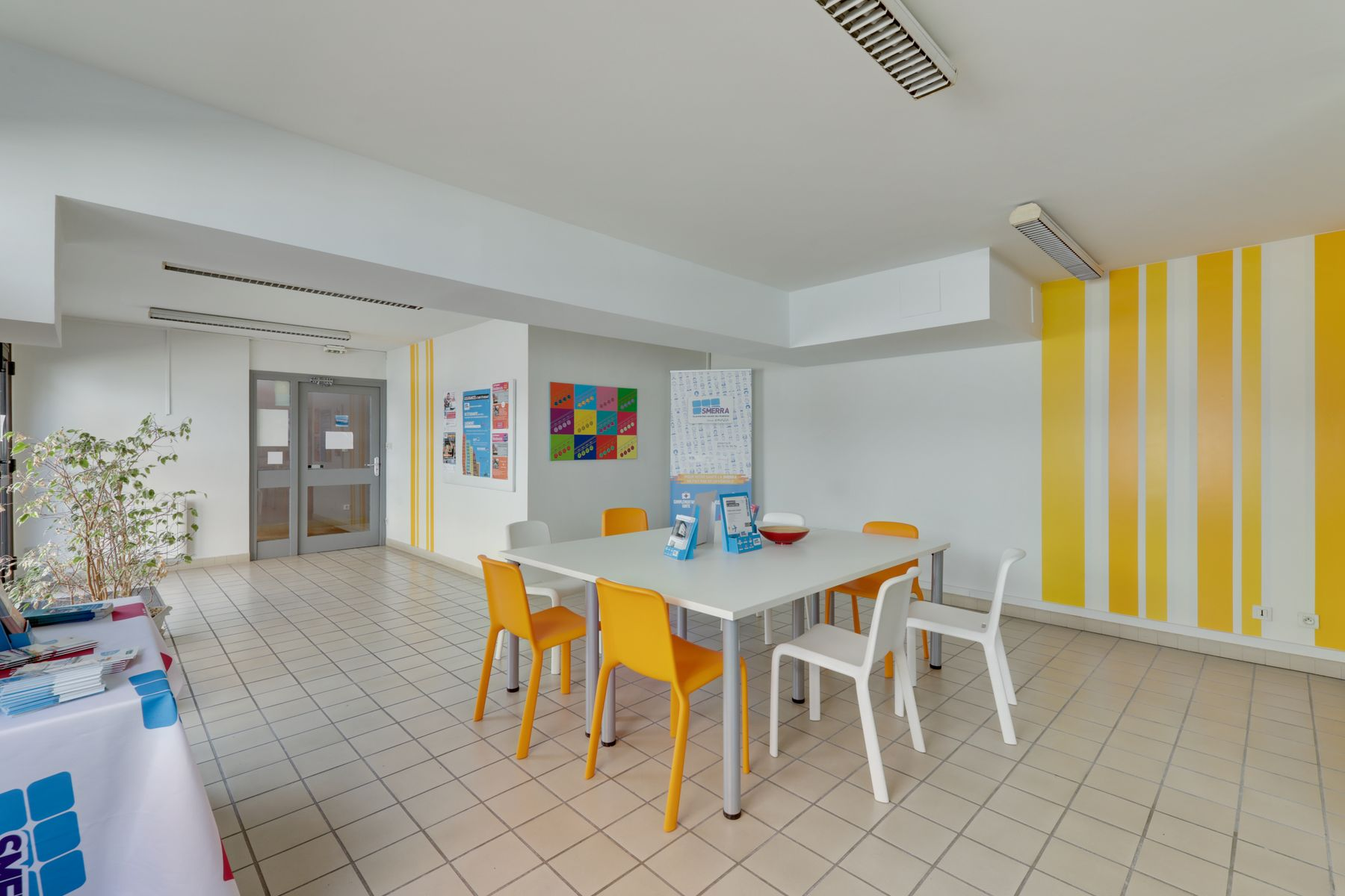 LOGIFAC résidence étudiante Anthoard Grenoble salles communes