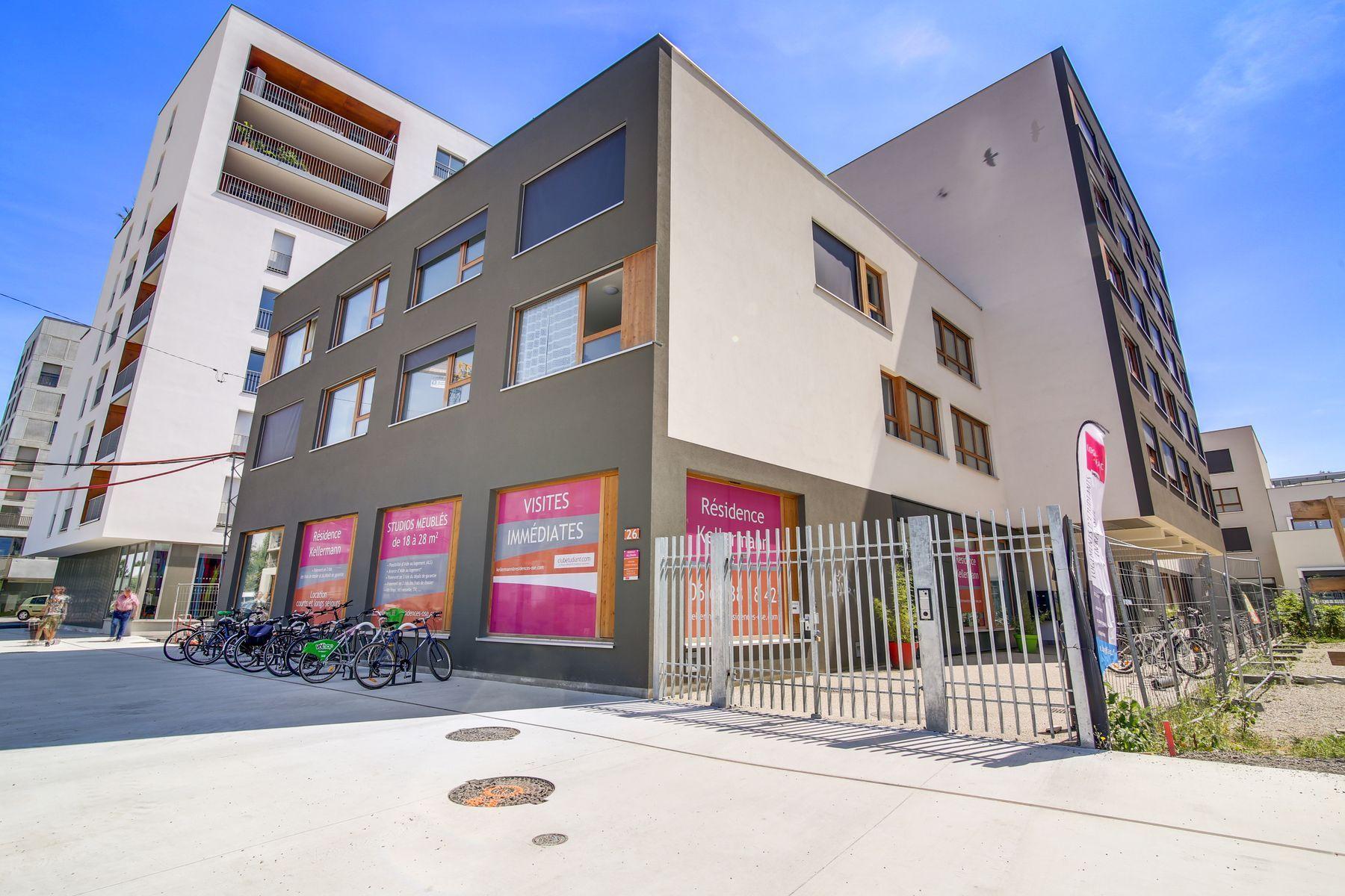 LOGIFAC résidence étudiante Kellerman Strasbourg securisé
