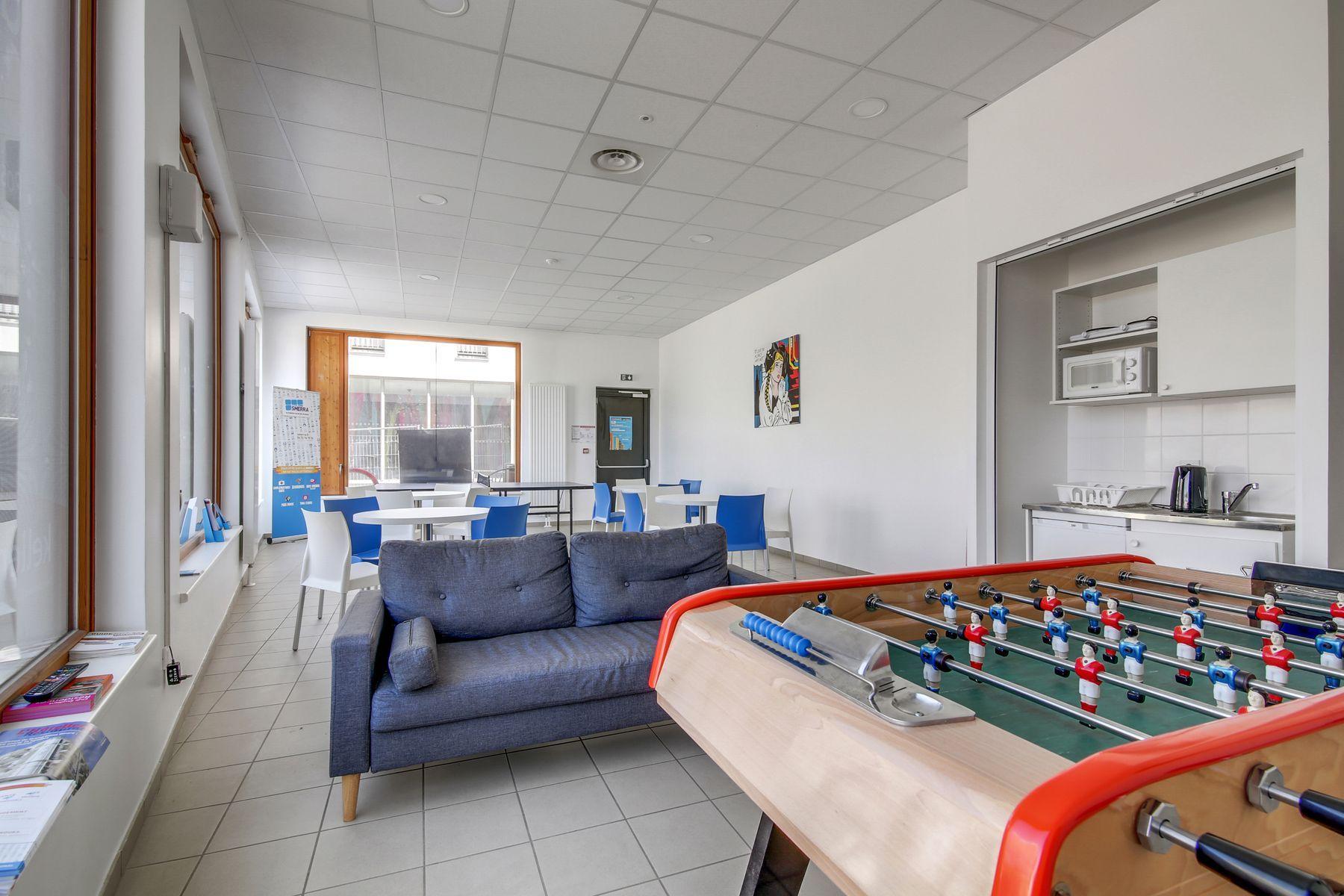LOGIFAC résidence étudiante Kellerman Strasbourg espaces communs