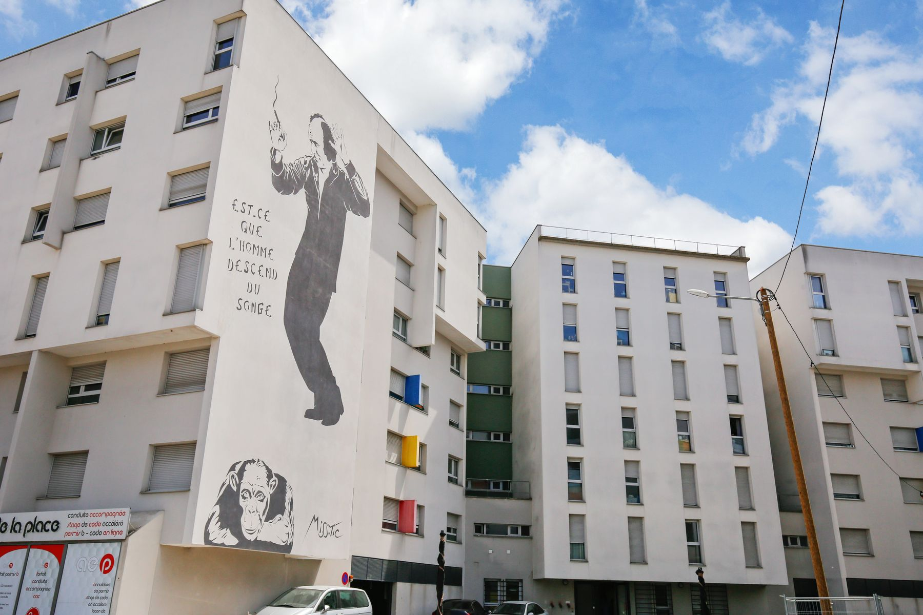 LOGIFAC résidence étudiante Léo Ferré Orly immeuble
