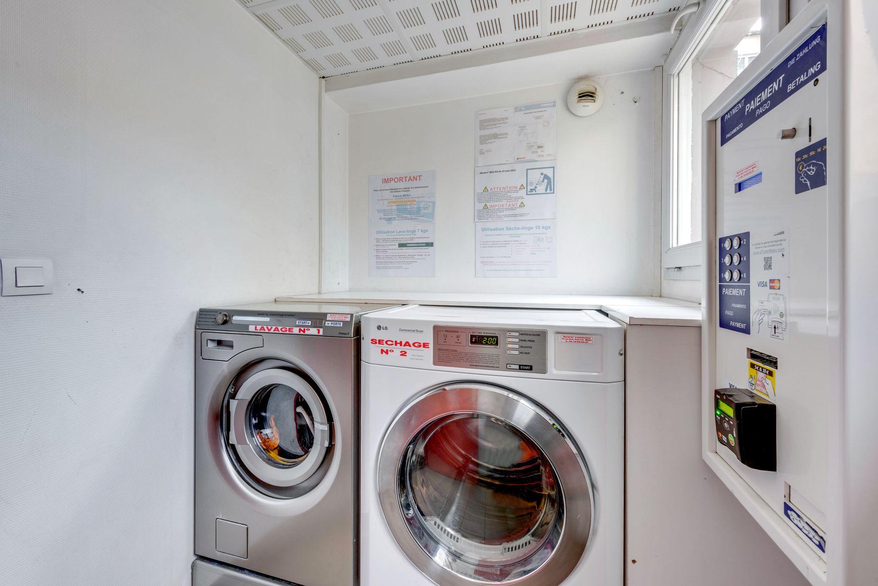 laverie résidence étudiante LOGIFAC Rimbaud Lyon