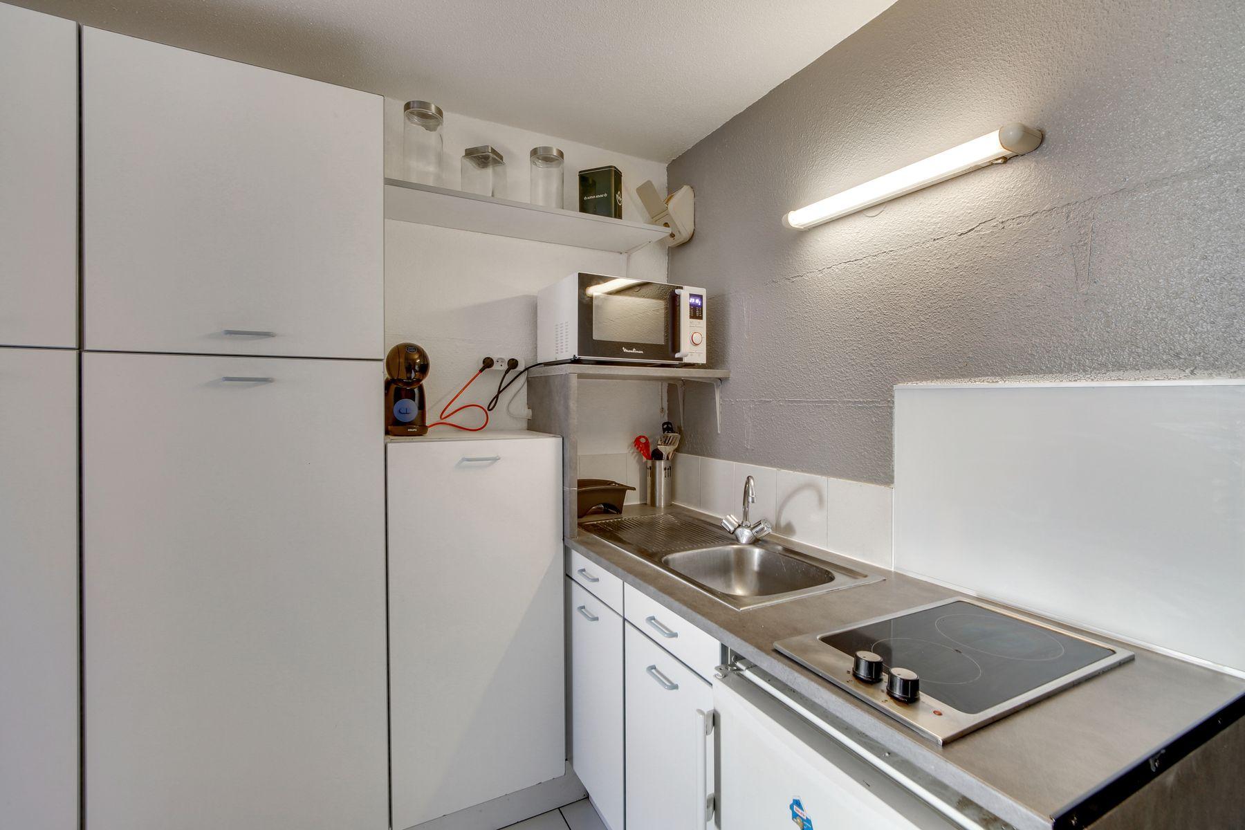 cuisine résidence étudiante LOGIFAC Belles Lettres Lyon 7