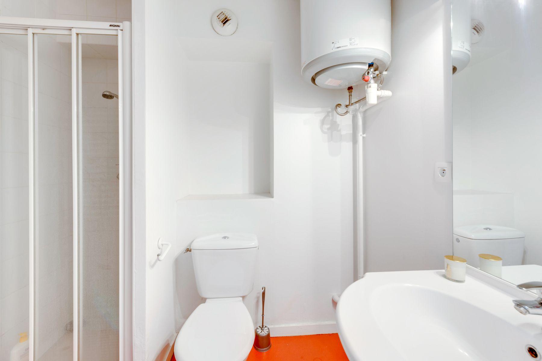 salle d'eau résidence étudiante LOGIFAC Rimbaud