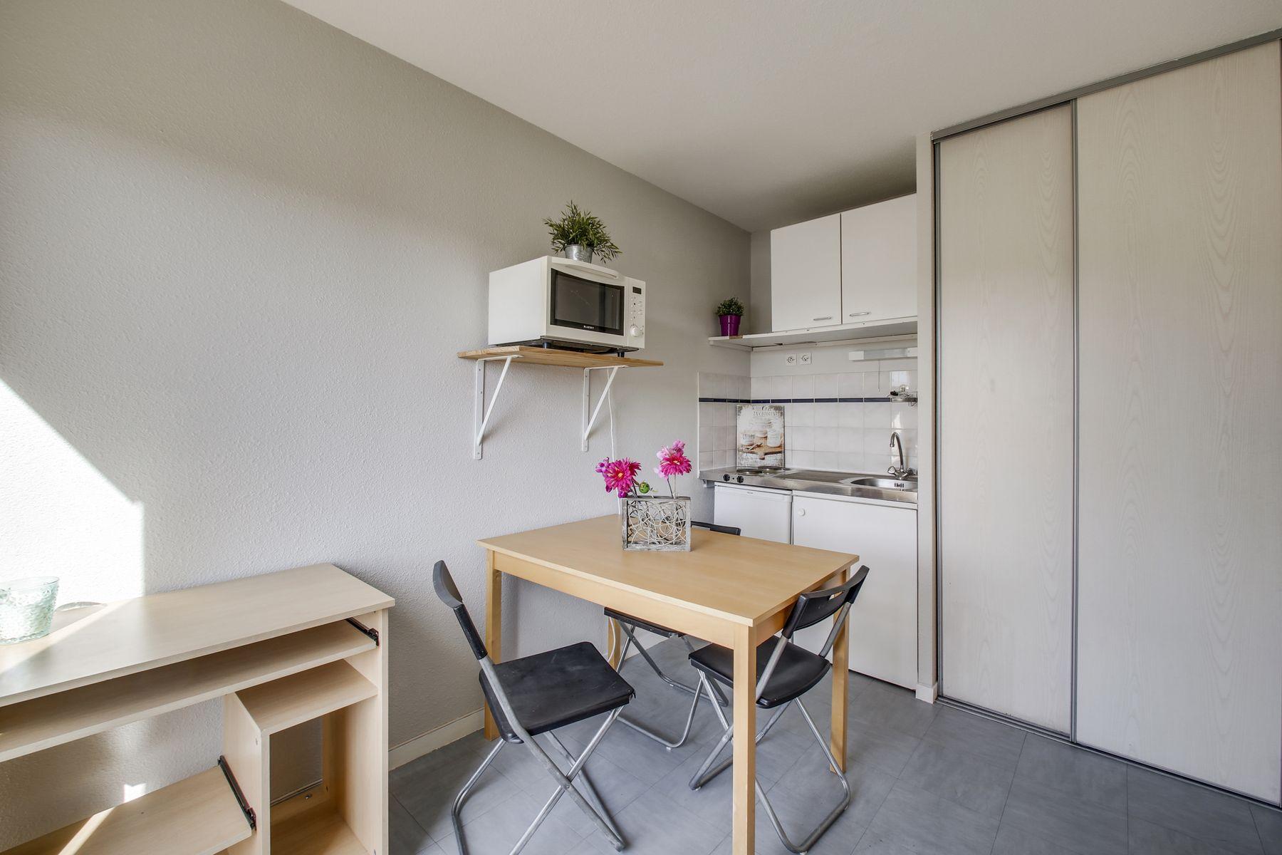 T1 résidence étudiante LOGIFAC Charcot Saint-Etienne
