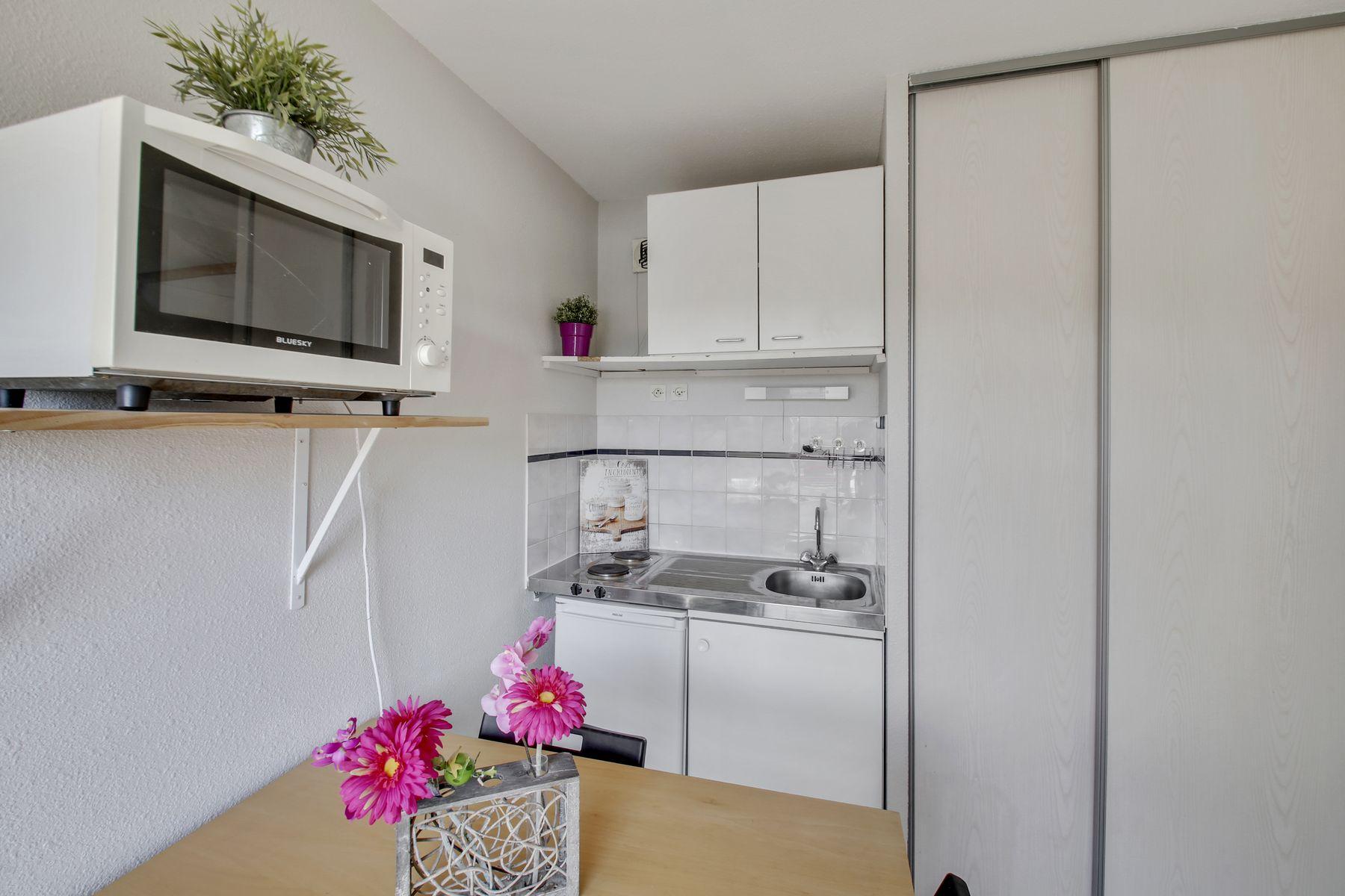 T1 résidence LOGIFAC Charcot logement étudiant