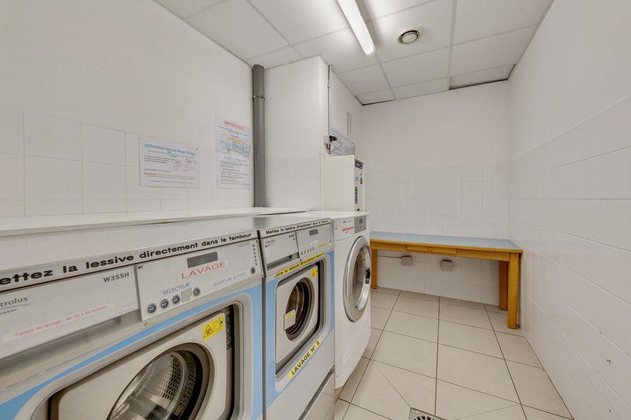 laverie résidence étudiante LOGIFAC Bancel Lyon