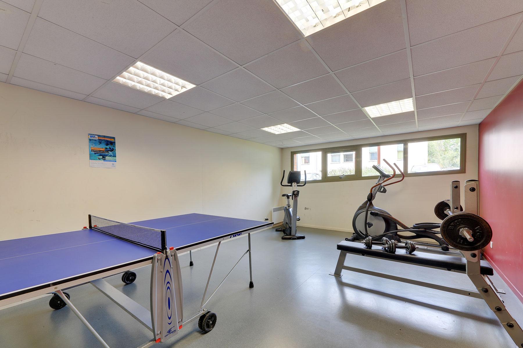 sport résidence étudiante LOGIFAC Valenciennes City études