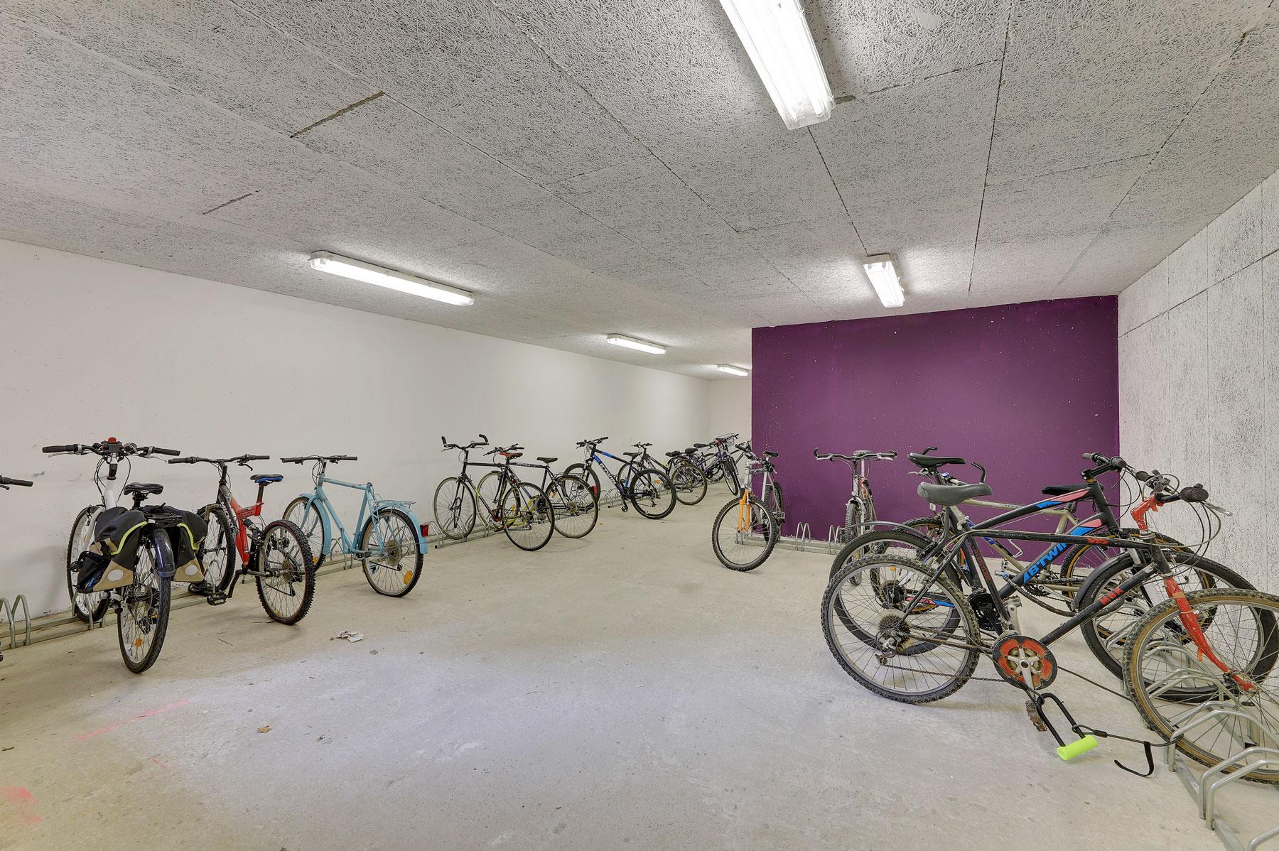 local vélo résidence étudiante LOGIFAC Valenciennes City études