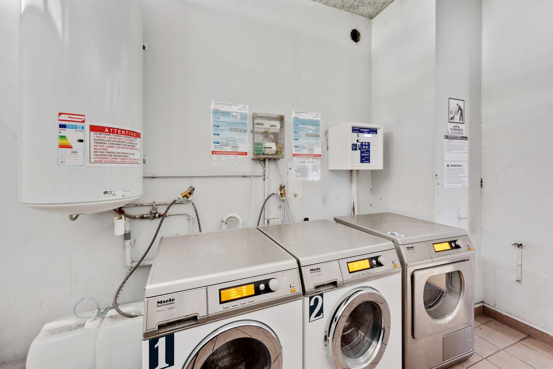 Maison des Étudiants du Rhône LOGIFAC machines à laver