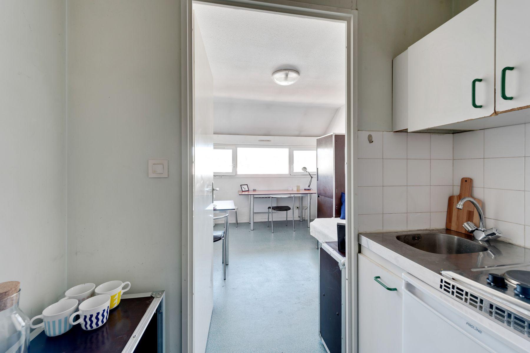 Maison des Étudiants du Rhône LOGIFAC résidence étudiante cuisine et studio