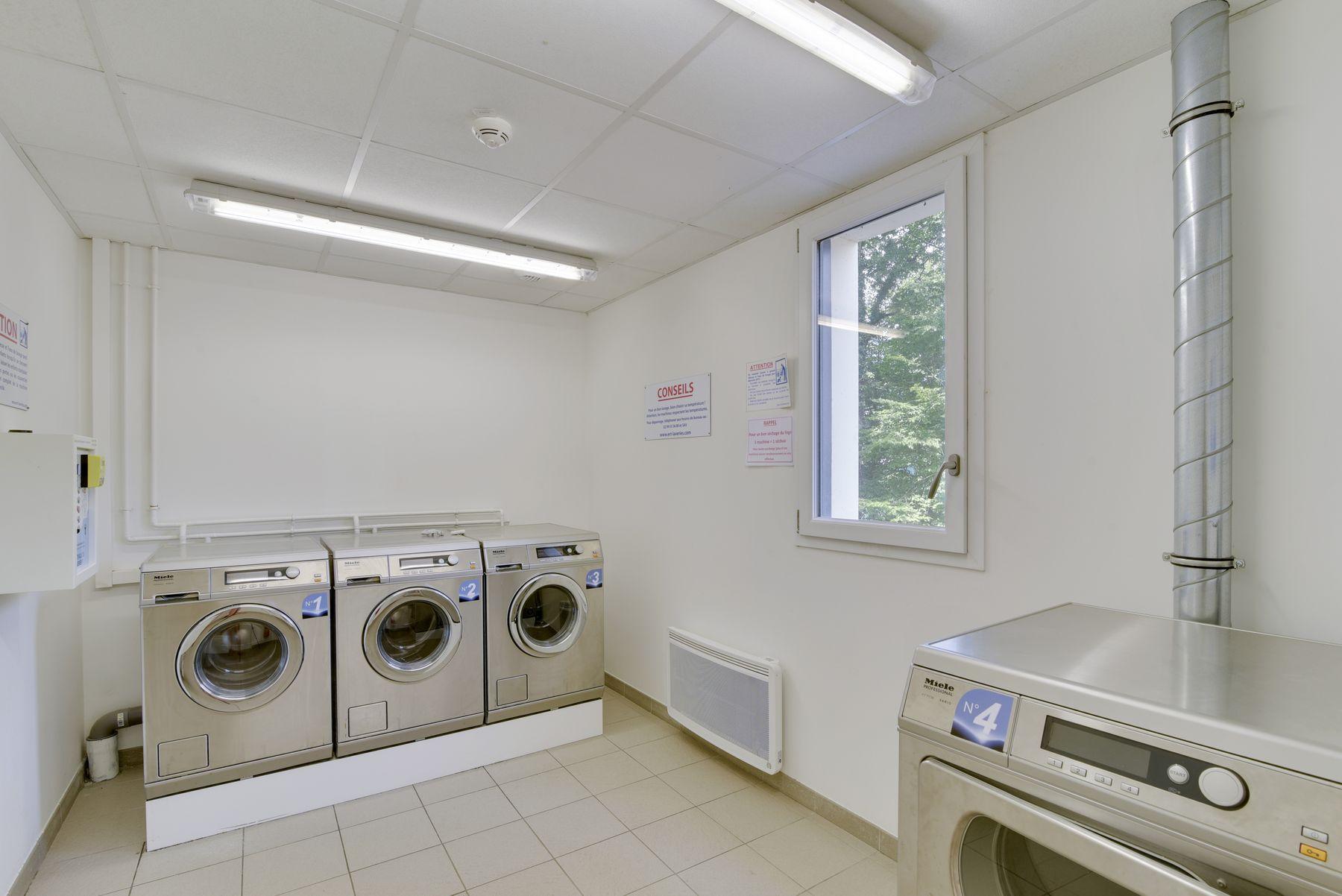 laverie résidence étudiante LOGIFAC La Rivière Nantes