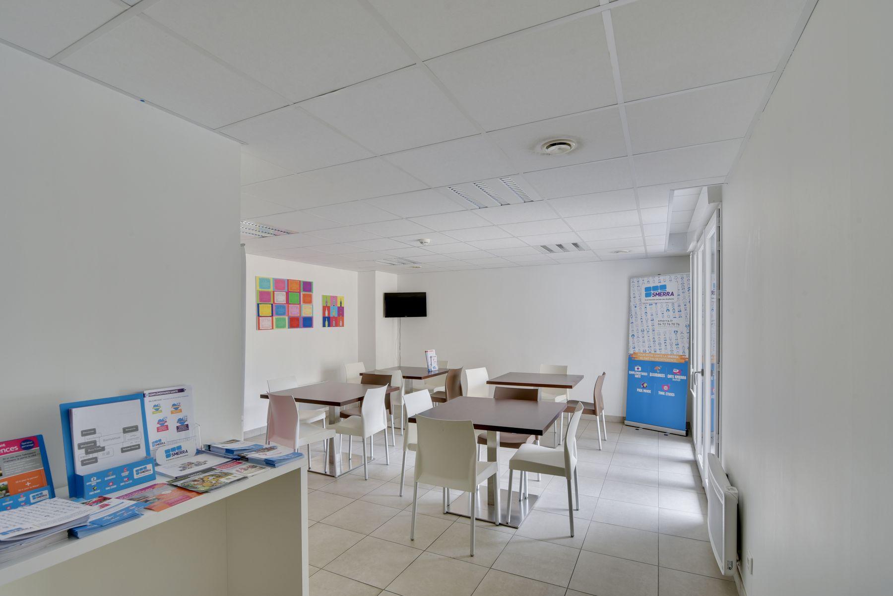 espaces communs résidence étudiante LOGIFAC La Rivière Nantes