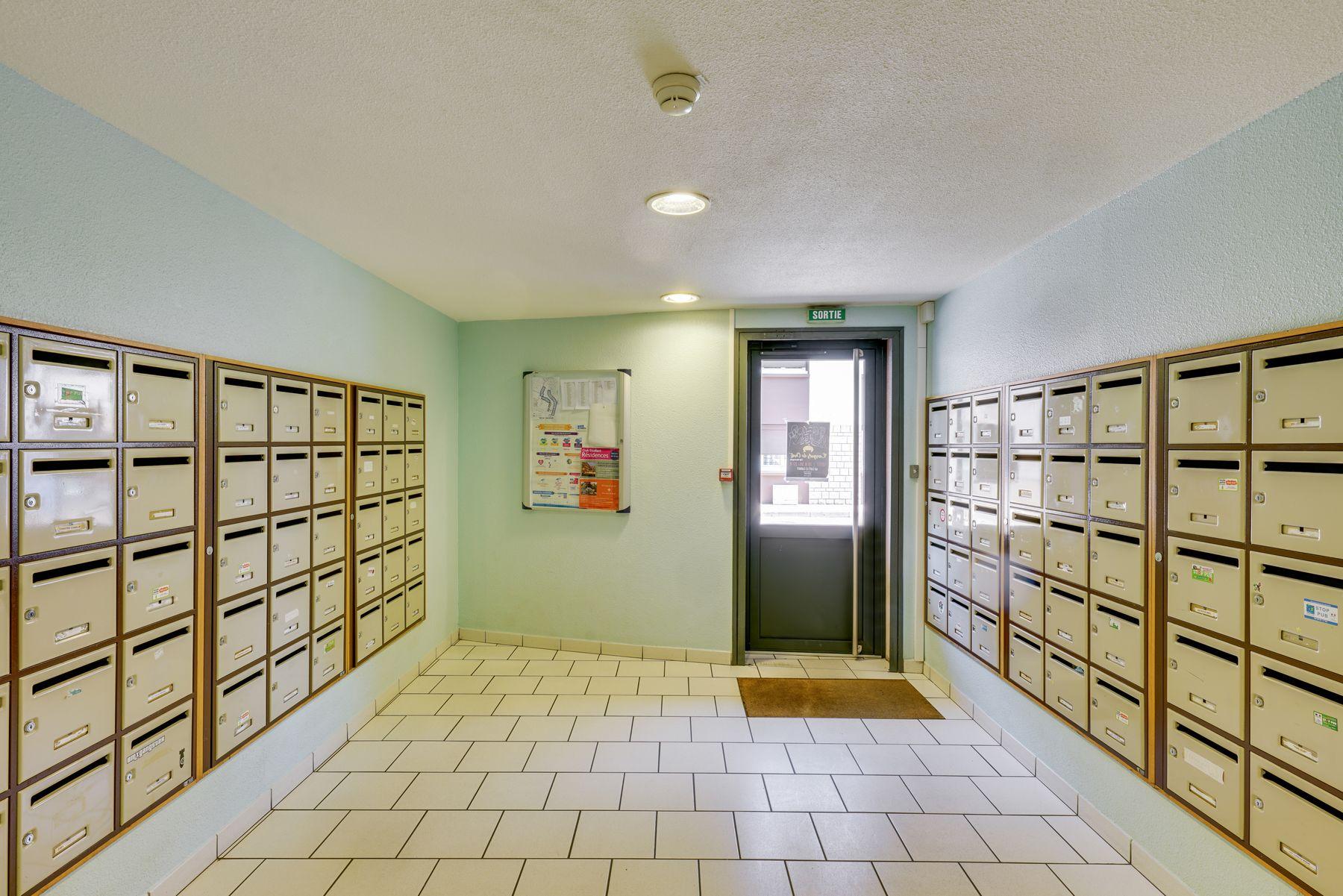 boite aux lettres résidence étudiante LOGIFAC Chauvelles Nevers