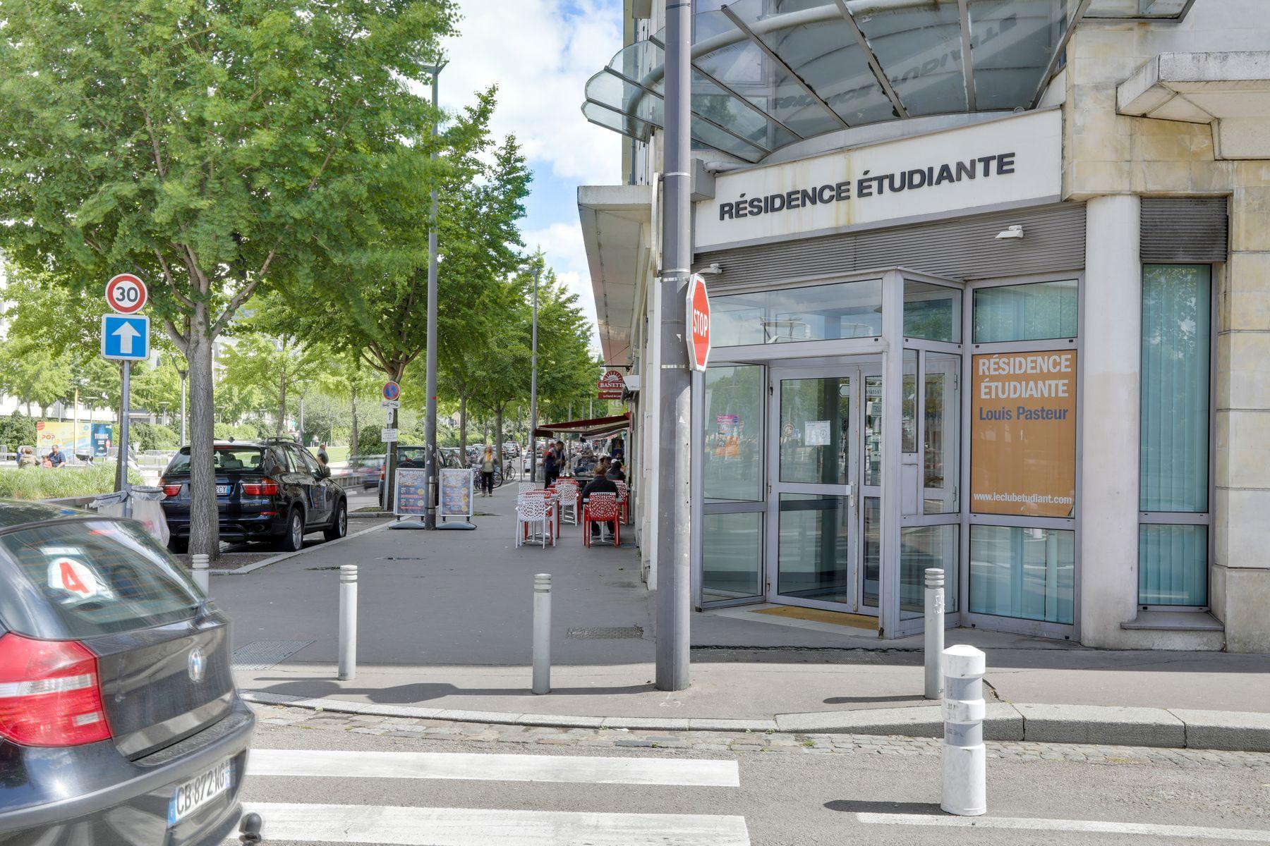 LOGIFAC résidence étudiante Pasteur Rouen accès sécurisé