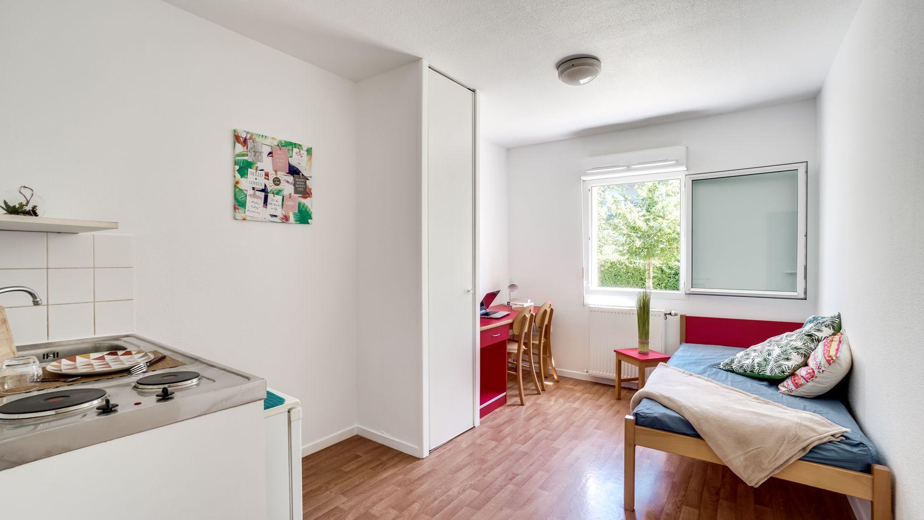LOGIFAC résidence étudiante Picasso Villeneuve logement