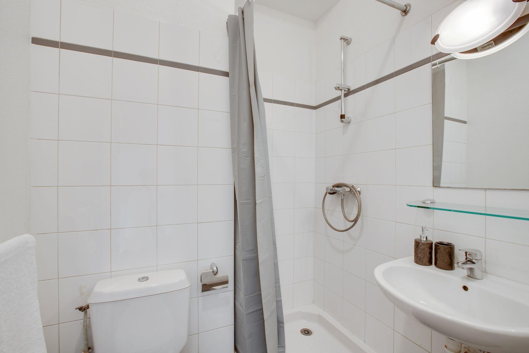 LOGIFAC résidence étudiante Porte de Montmartre Paris salle d'eau