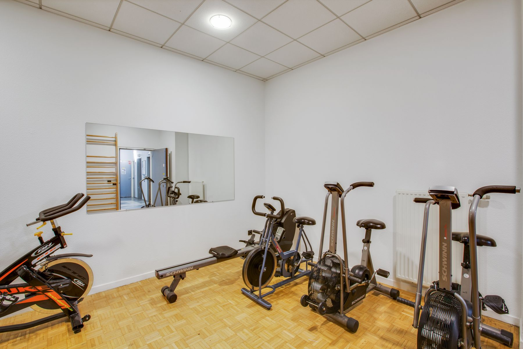 LOGIFAC résidence étudiante Porte de Montmartre Paris salle de sport